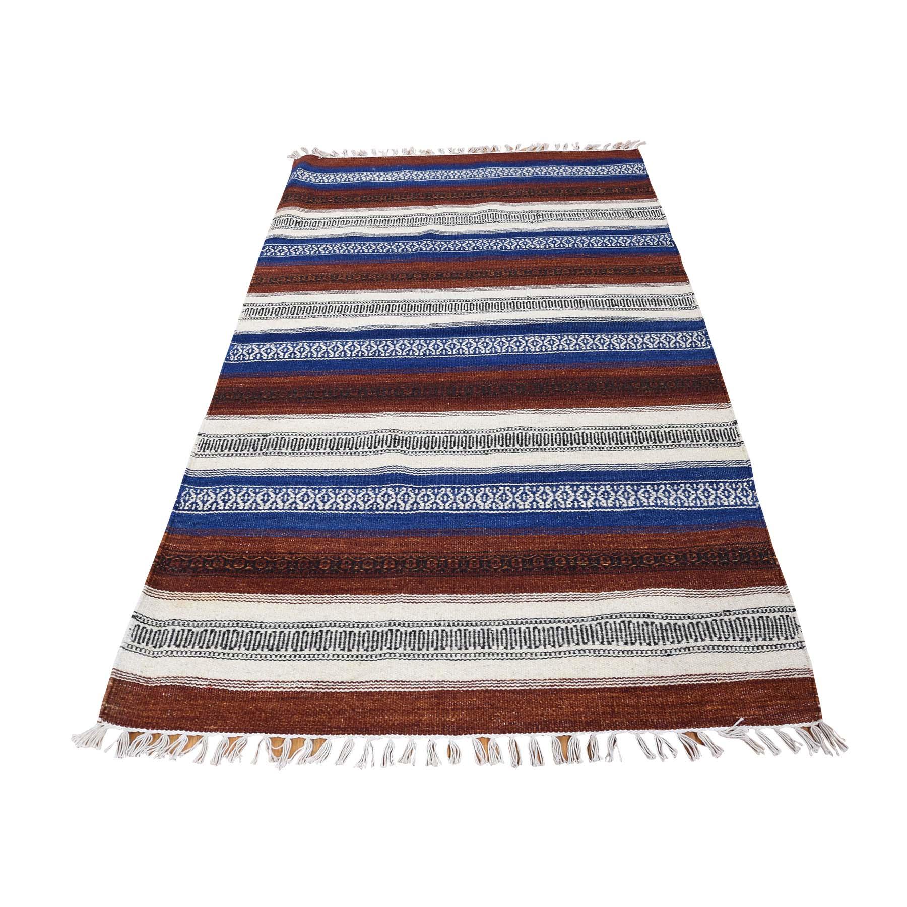 Fine Kilim Collection Hand Woven Multicolored Rug No: 0180208