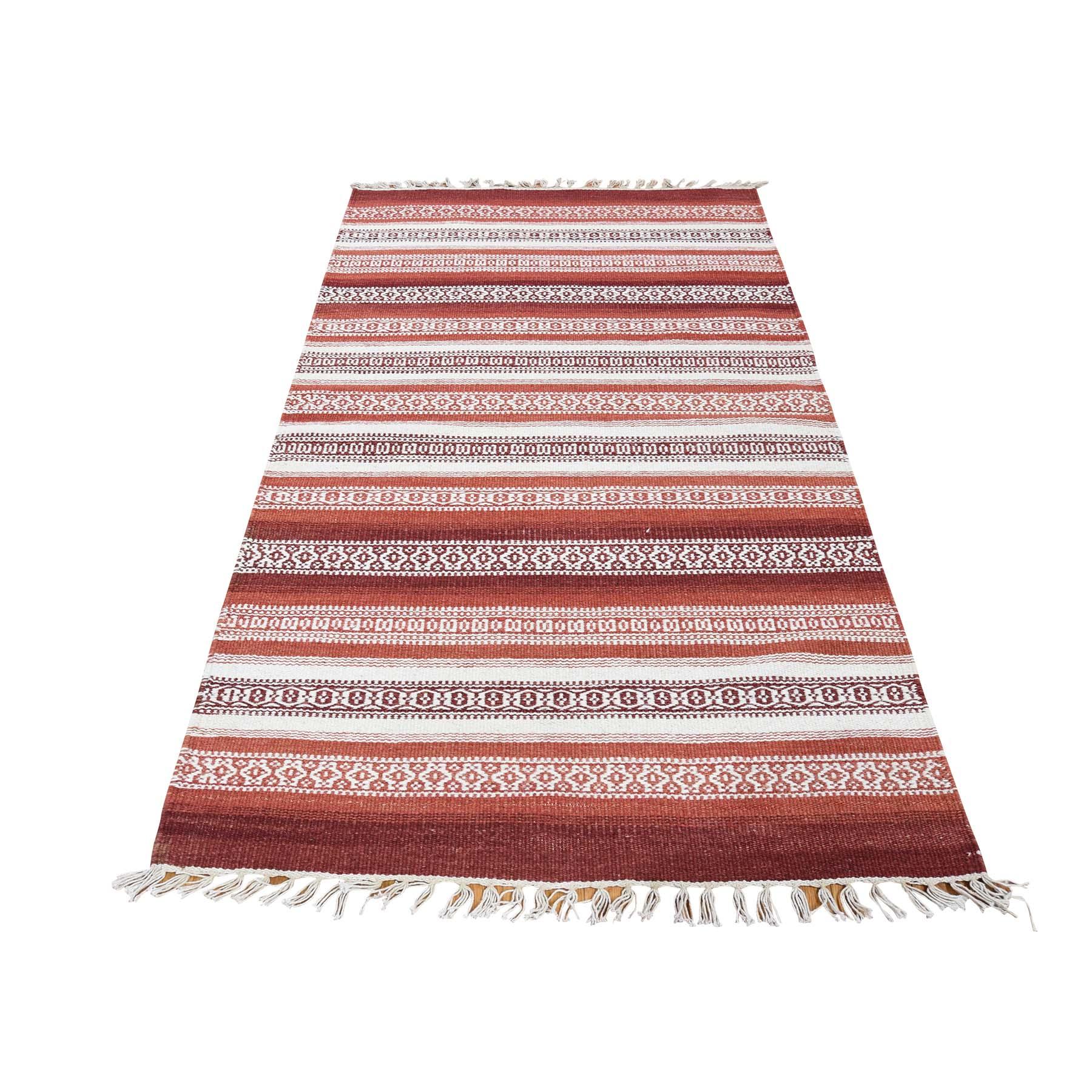 Fine Kilim Collection Hand Woven Multicolored Rug No: 0180212