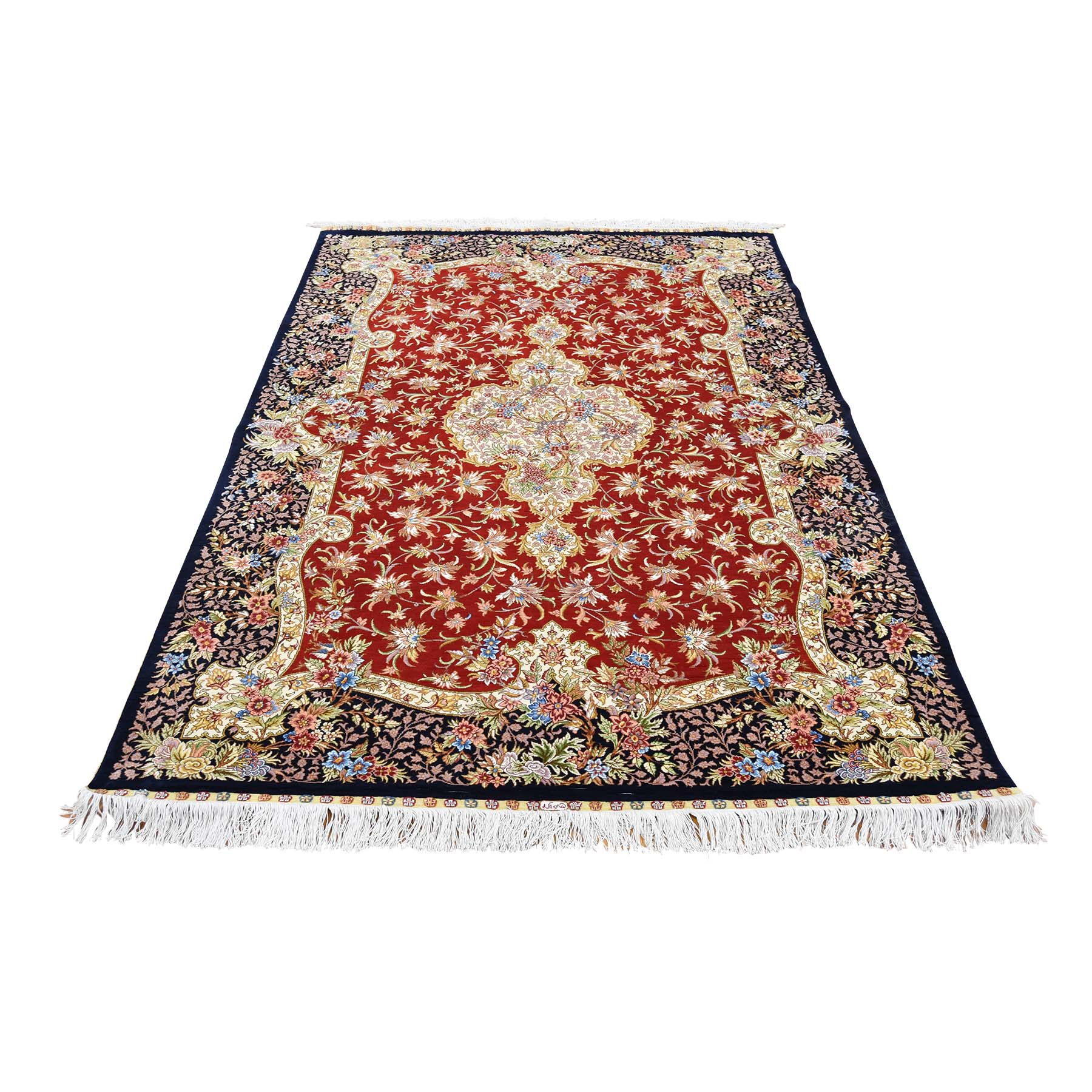 Pirniakan Collection Hand Knotted Red Rug No: 0180368