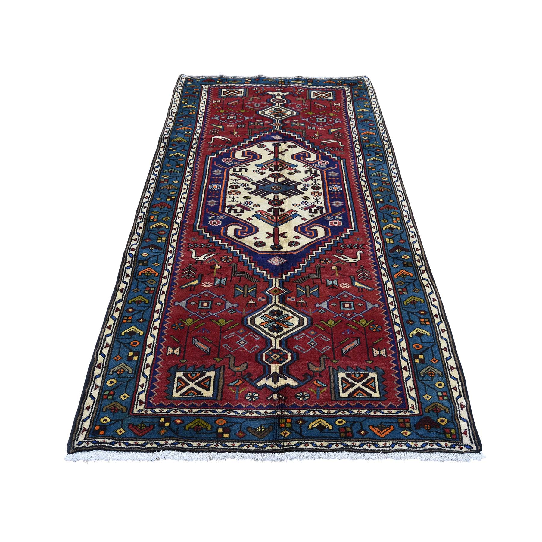 Pirniakan Collection Hand Knotted Red Rug No: 0180448