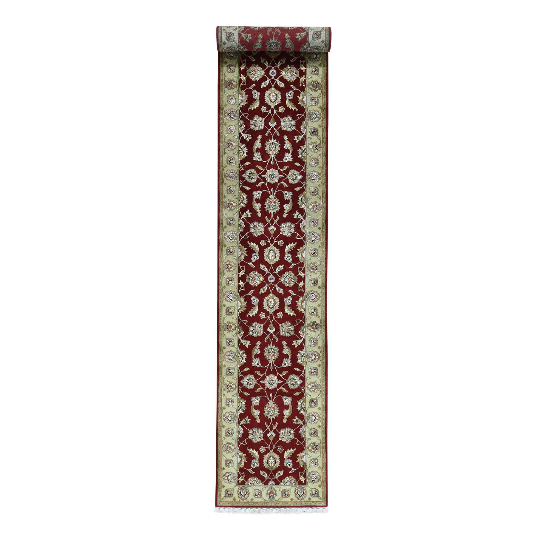 Pahlavi Collection Hand Knotted Red Rug No: 164666