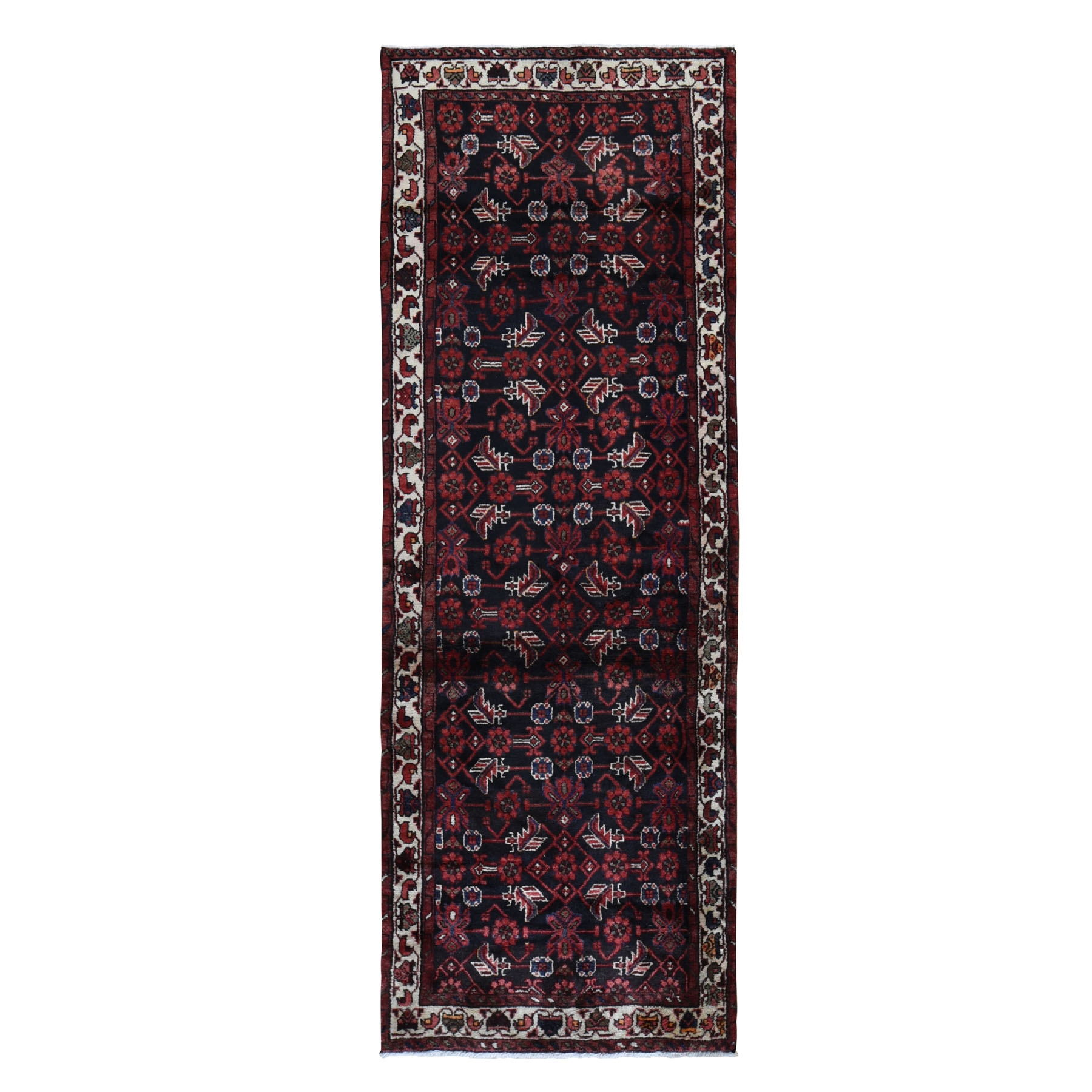 Classic Persian Collection Hand Knotted Black Rug No: 199572