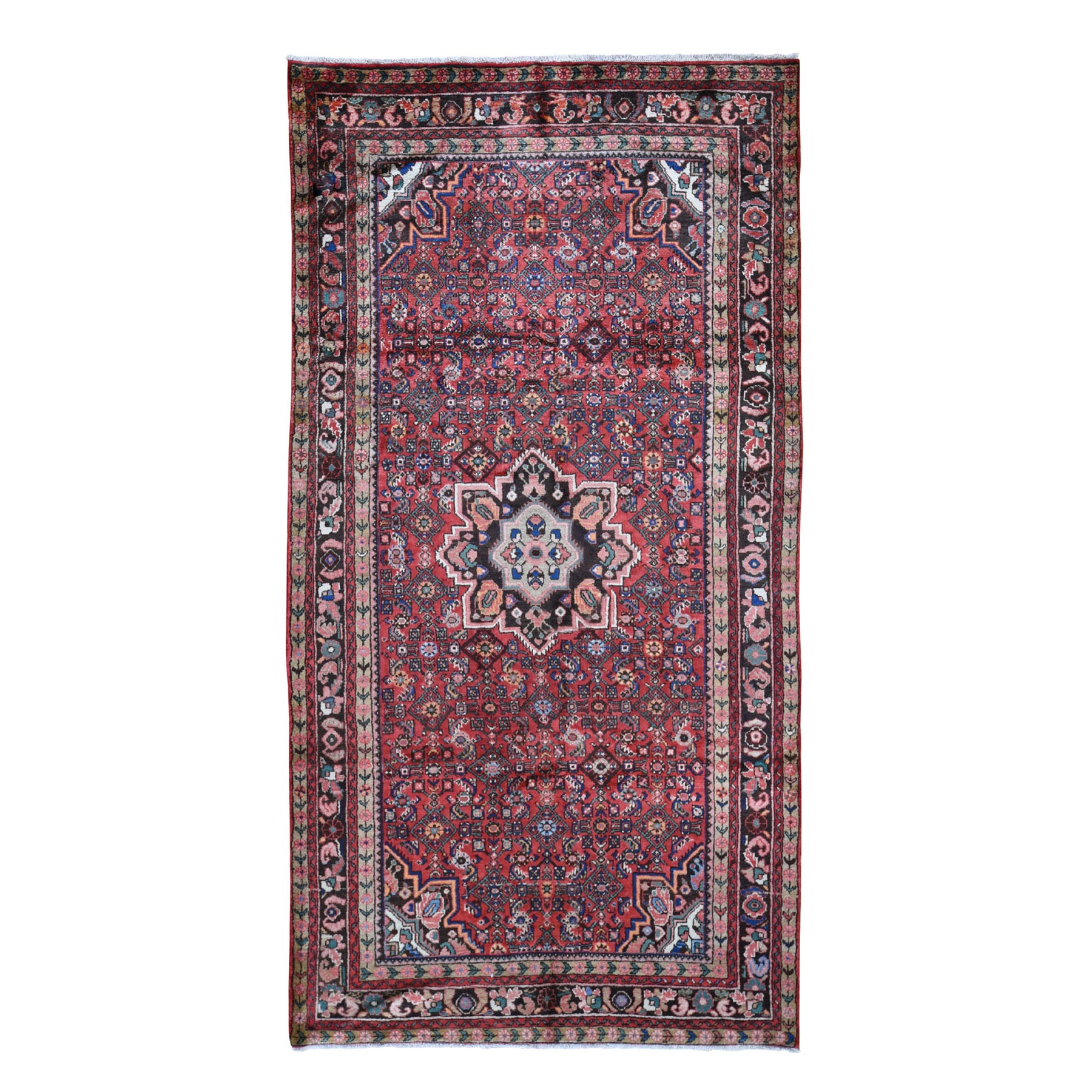 Classic Persian Collection Hand Knotted Red Rug No: 199838