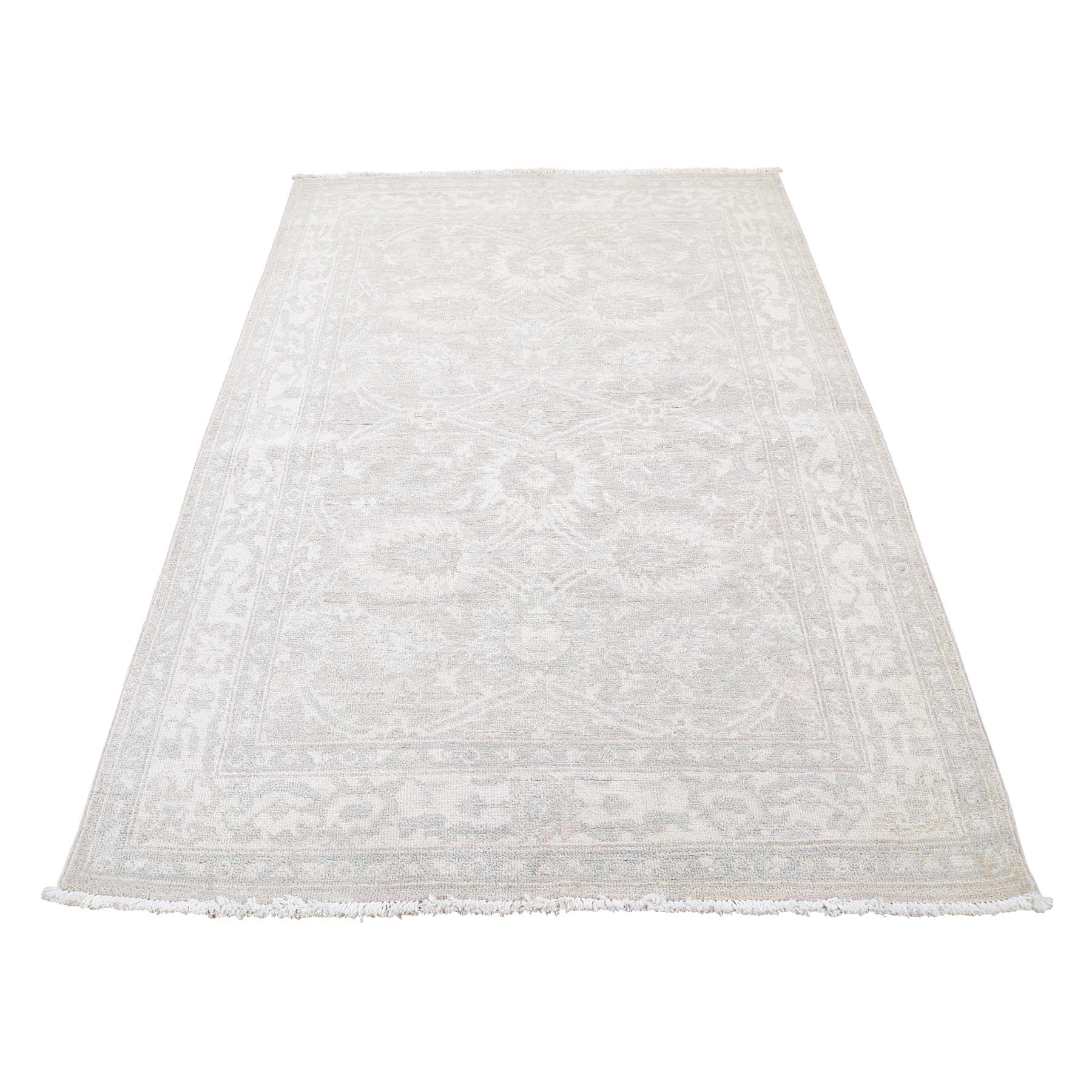 Agra And Turkish Collection Hand Knotted Beige Rug No: 0181868