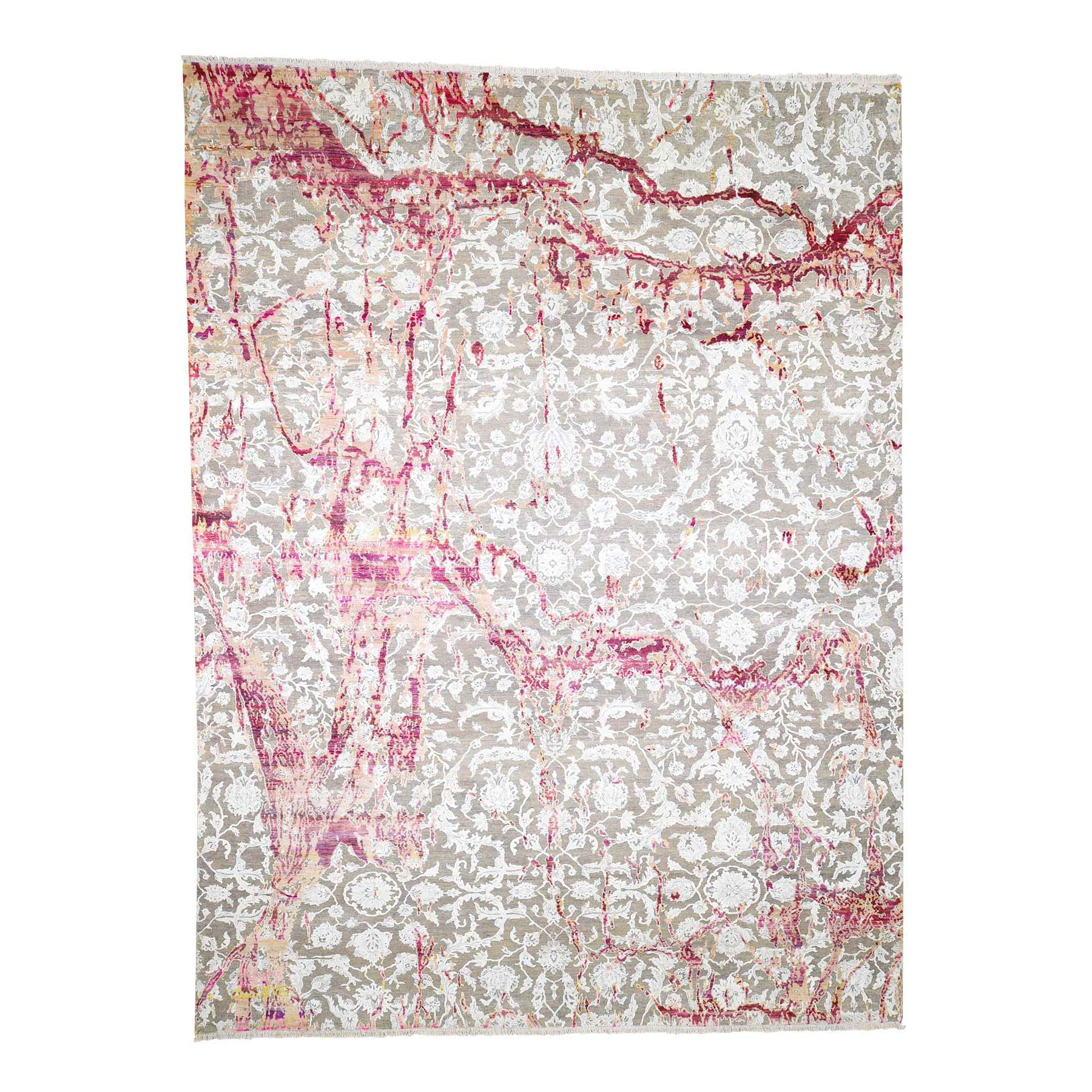 Pirniakan Collection Hand Knotted Brown Rug No: 181574