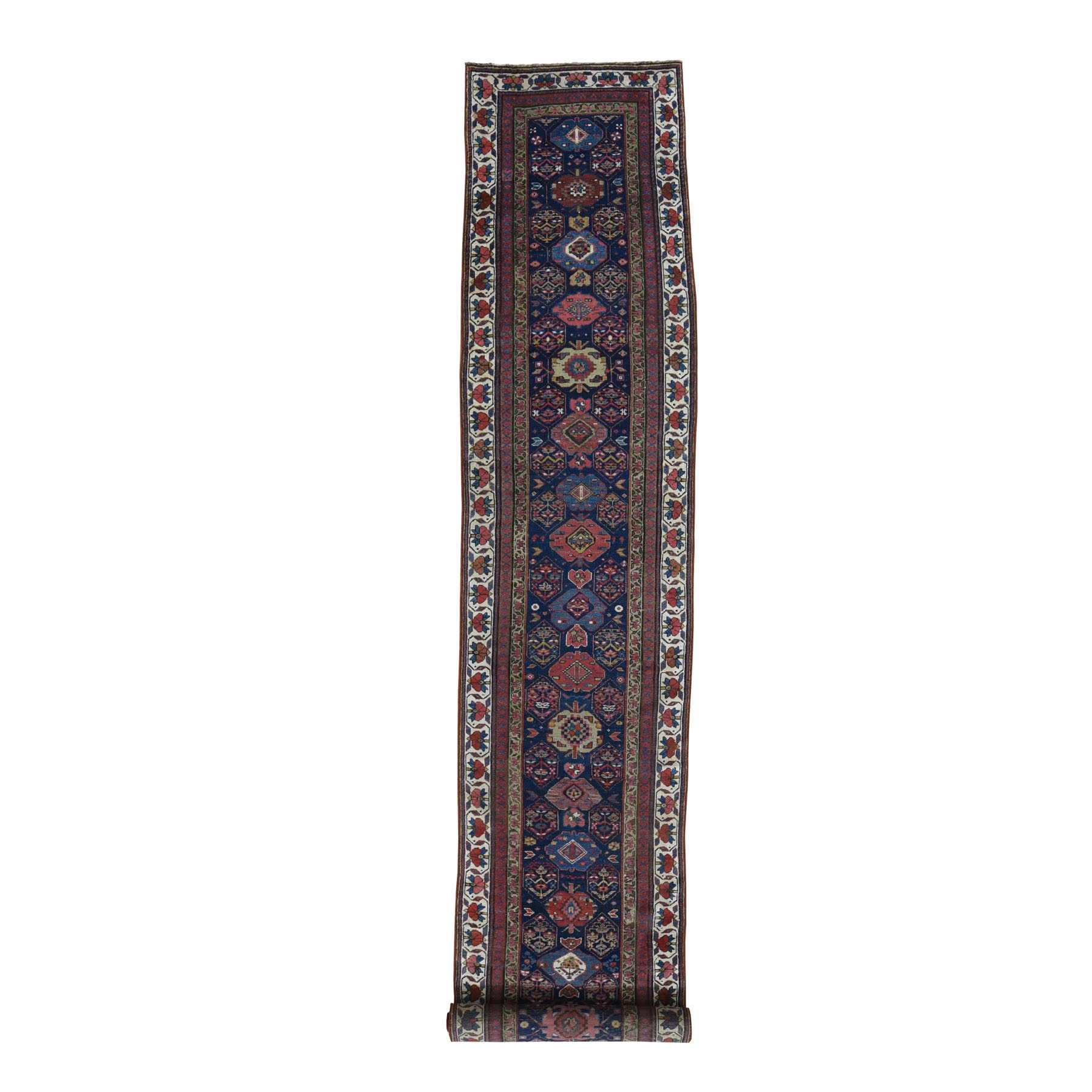 Antique Collection Hand Knotted Blue Rug No: 1118012