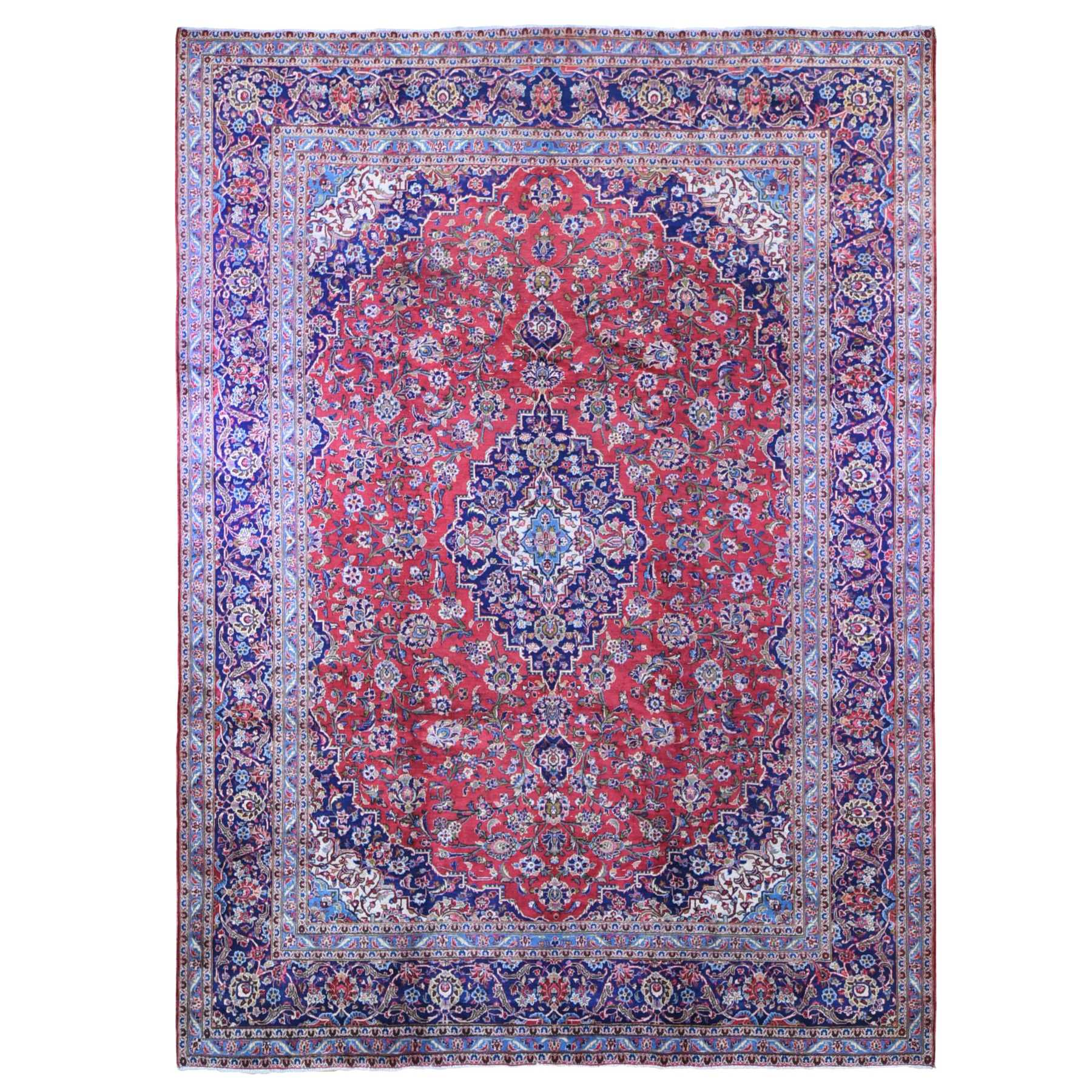 Classic Persian Collection Hand Knotted Red Rug No: 1133622