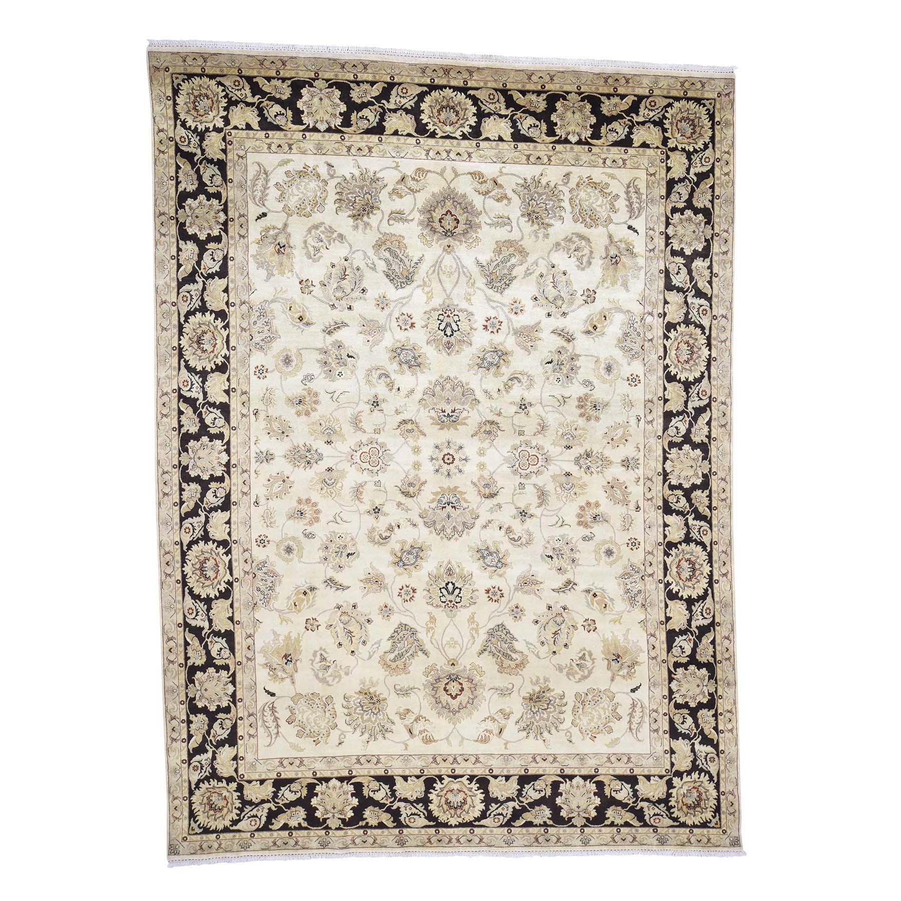 Pirniakan Collection Hand Knotted Ivory Rug No: 0181452