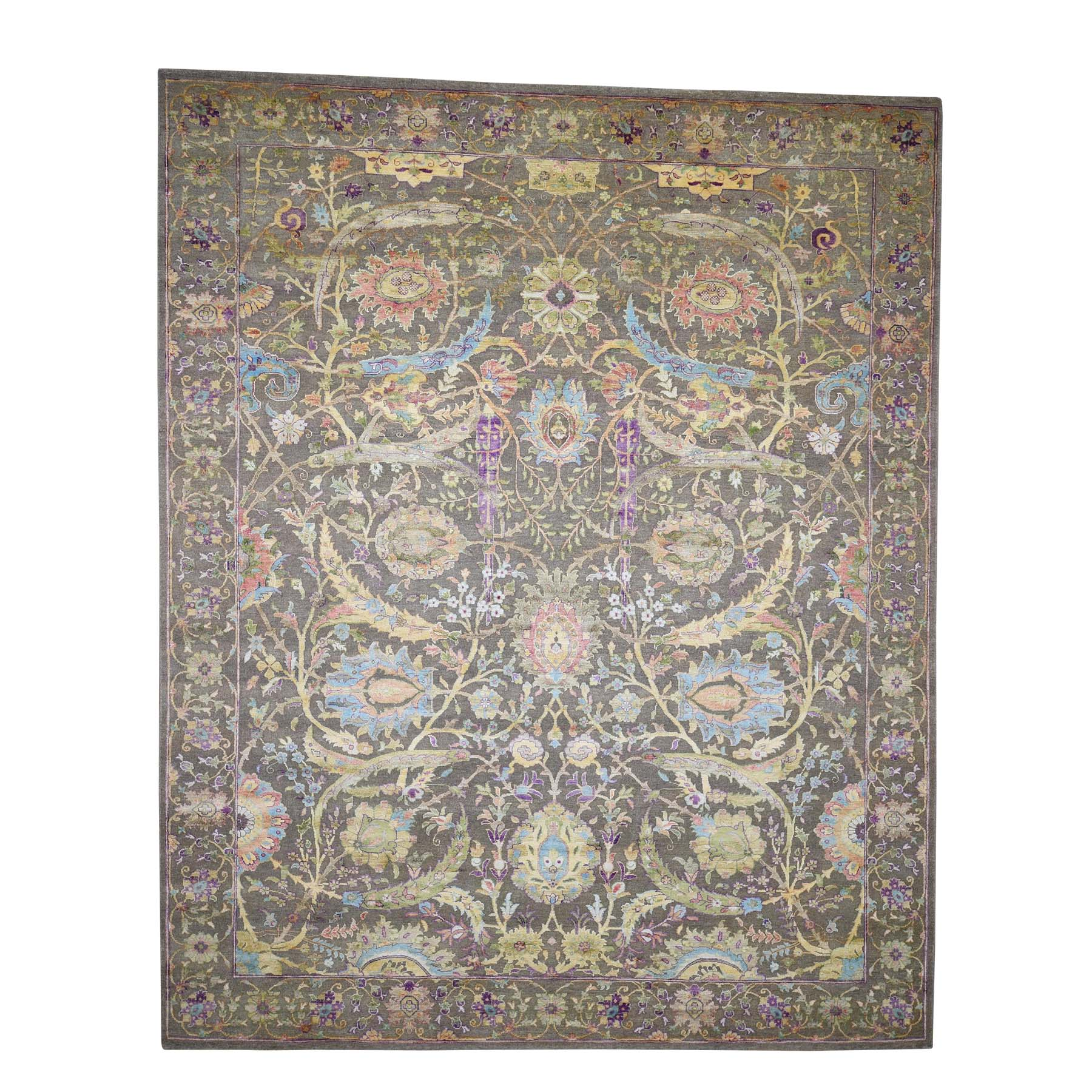 Pirniakan Collection Hand Knotted Brown Rug No: 181622
