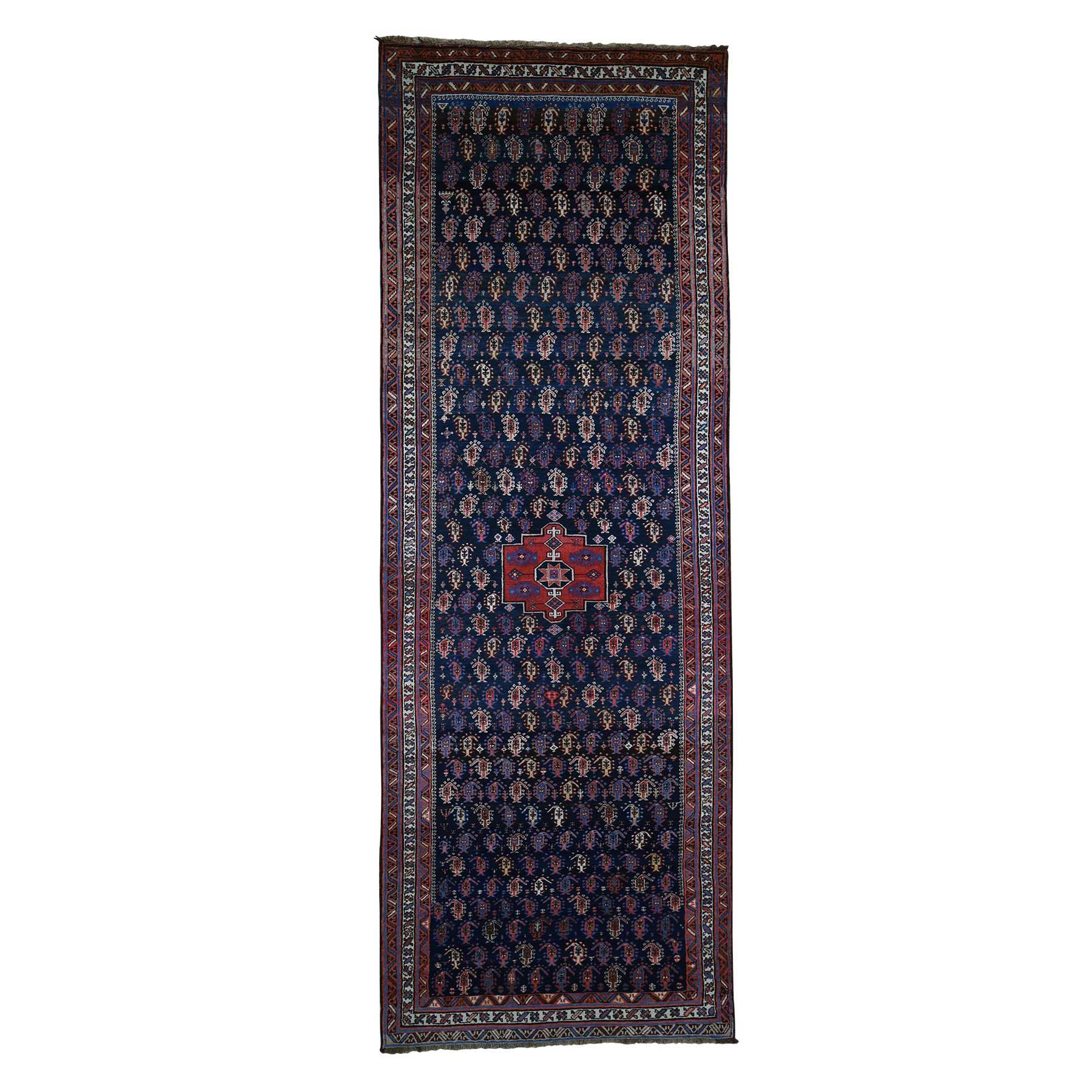 Antique Collection Hand Knotted Blue Rug No: 182122