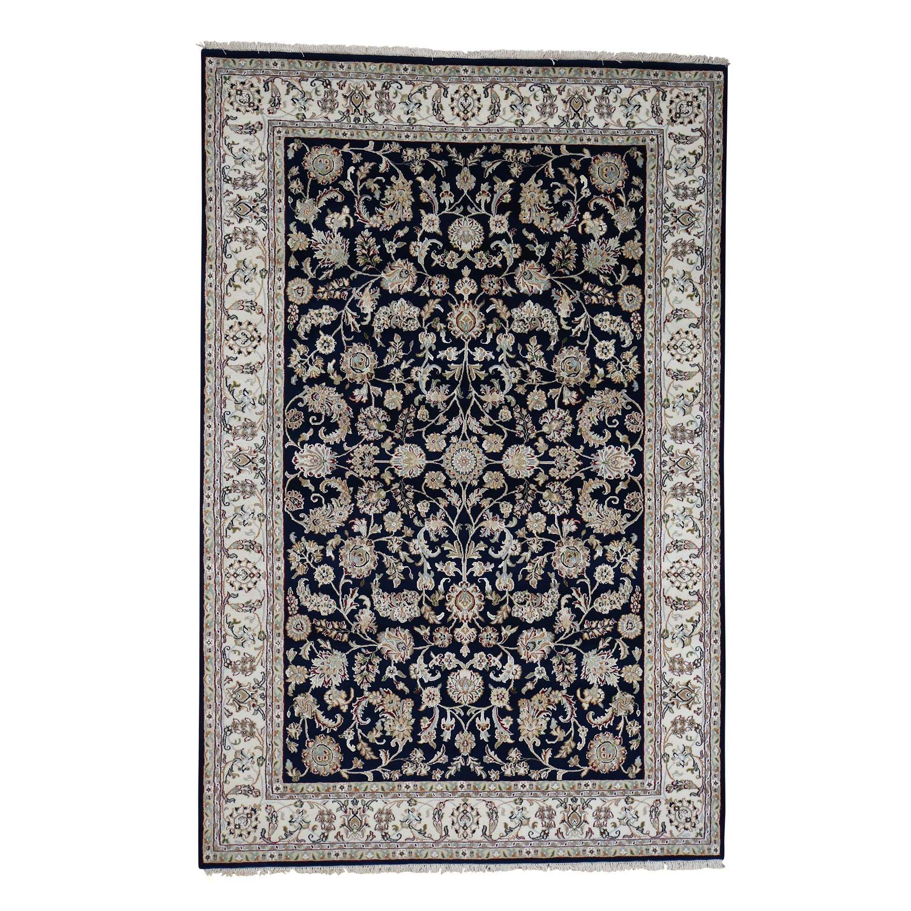 Pirniakan Collection Hand Knotted Blue Rug No: 182044