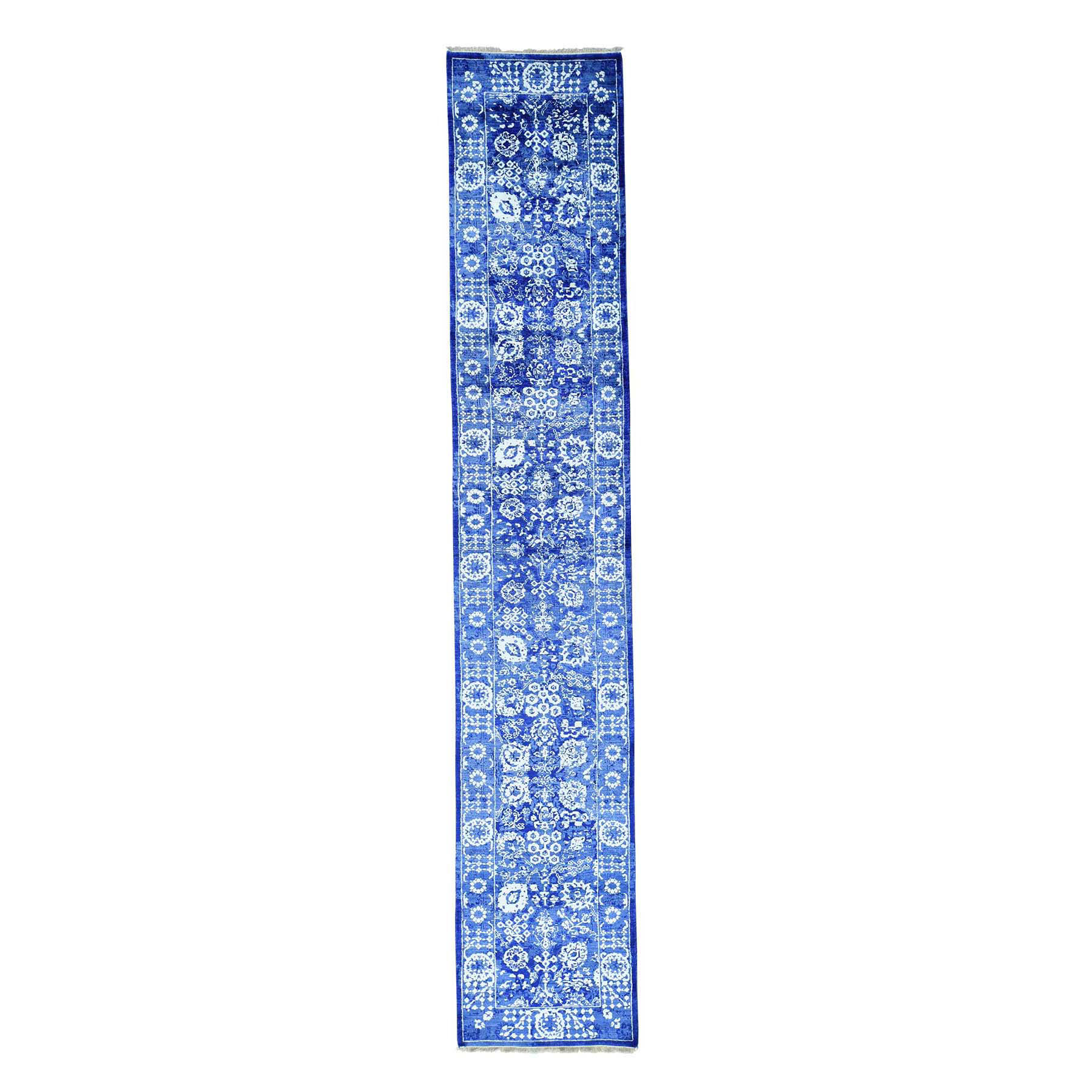 Pirniakan Collection Hand Knotted Blue Rug No: 166910
