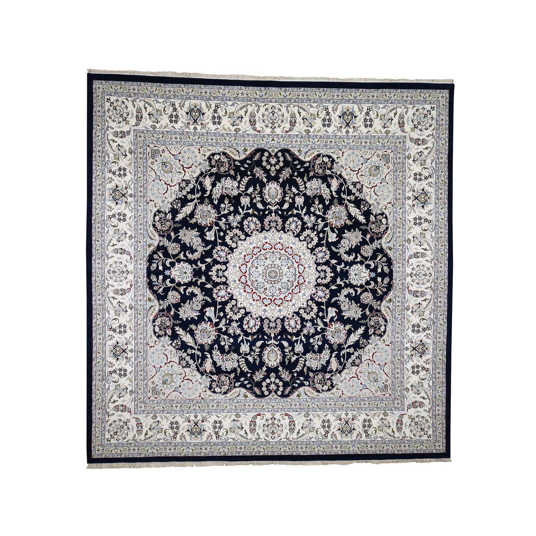 Pirniakan Collection Hand Knotted Blue Rug No: 182110
