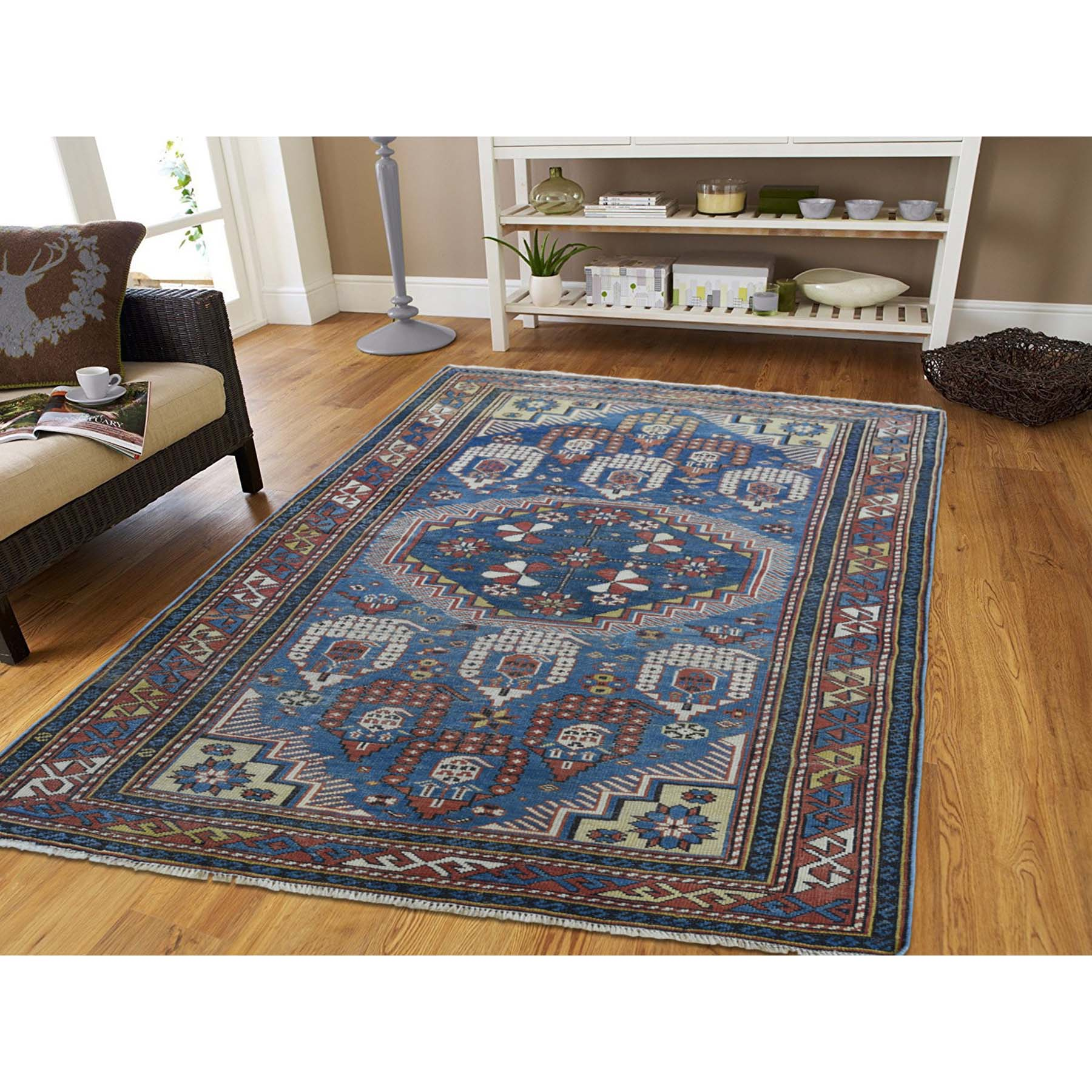 Antique Collection Hand Knotted Blue 0182500 Rug