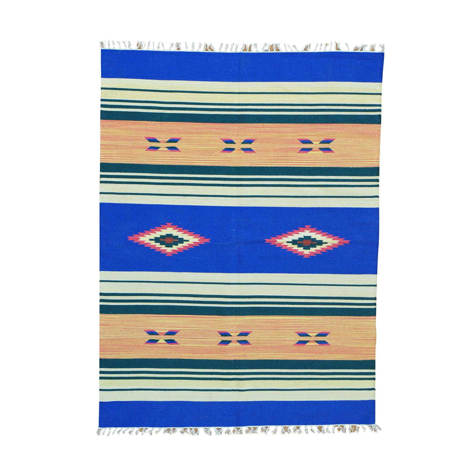 Fine Kilim Collection Hand Woven Multicolored Rug No: 0152258