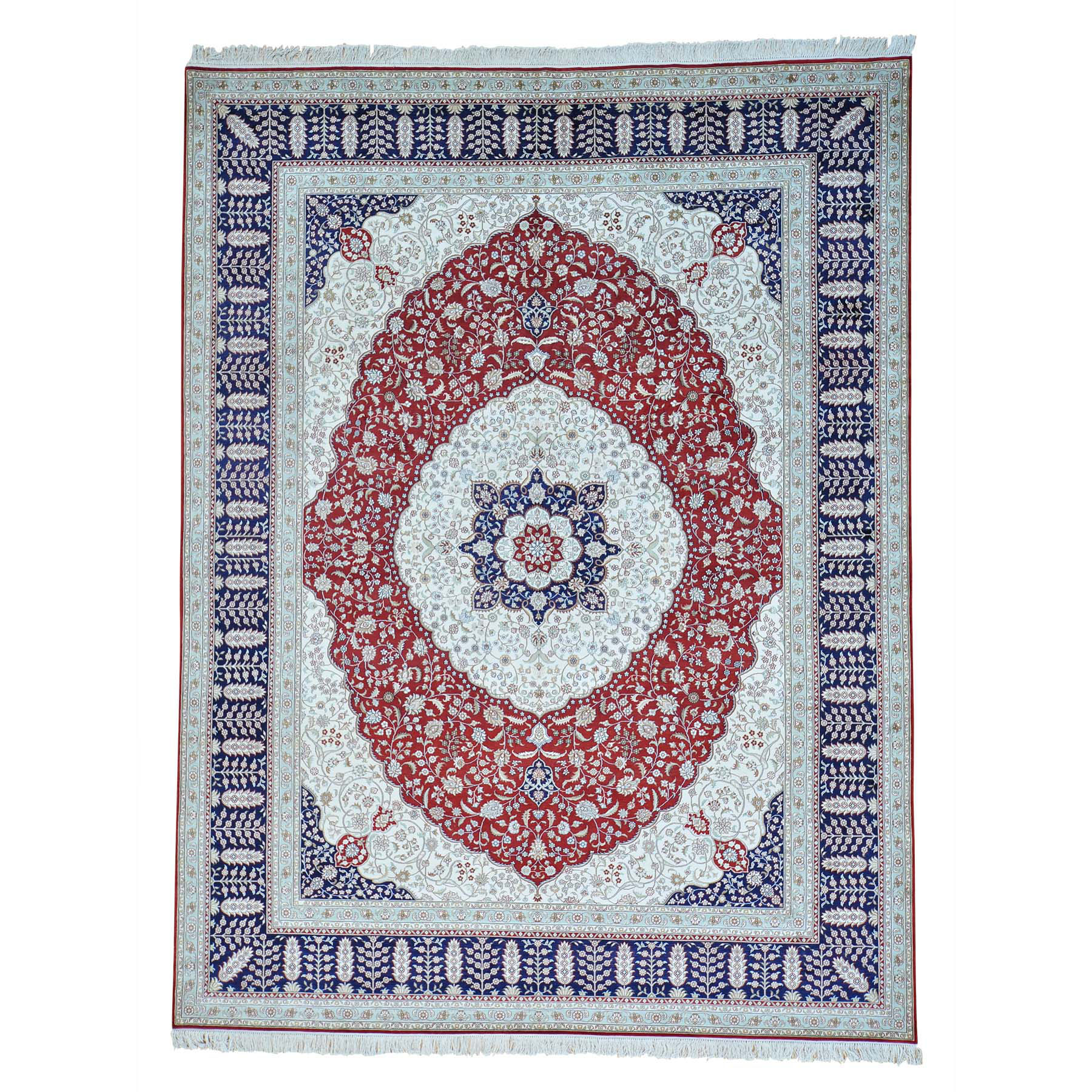 Pirniakan Collection Hand Knotted Red Rug No: 152904