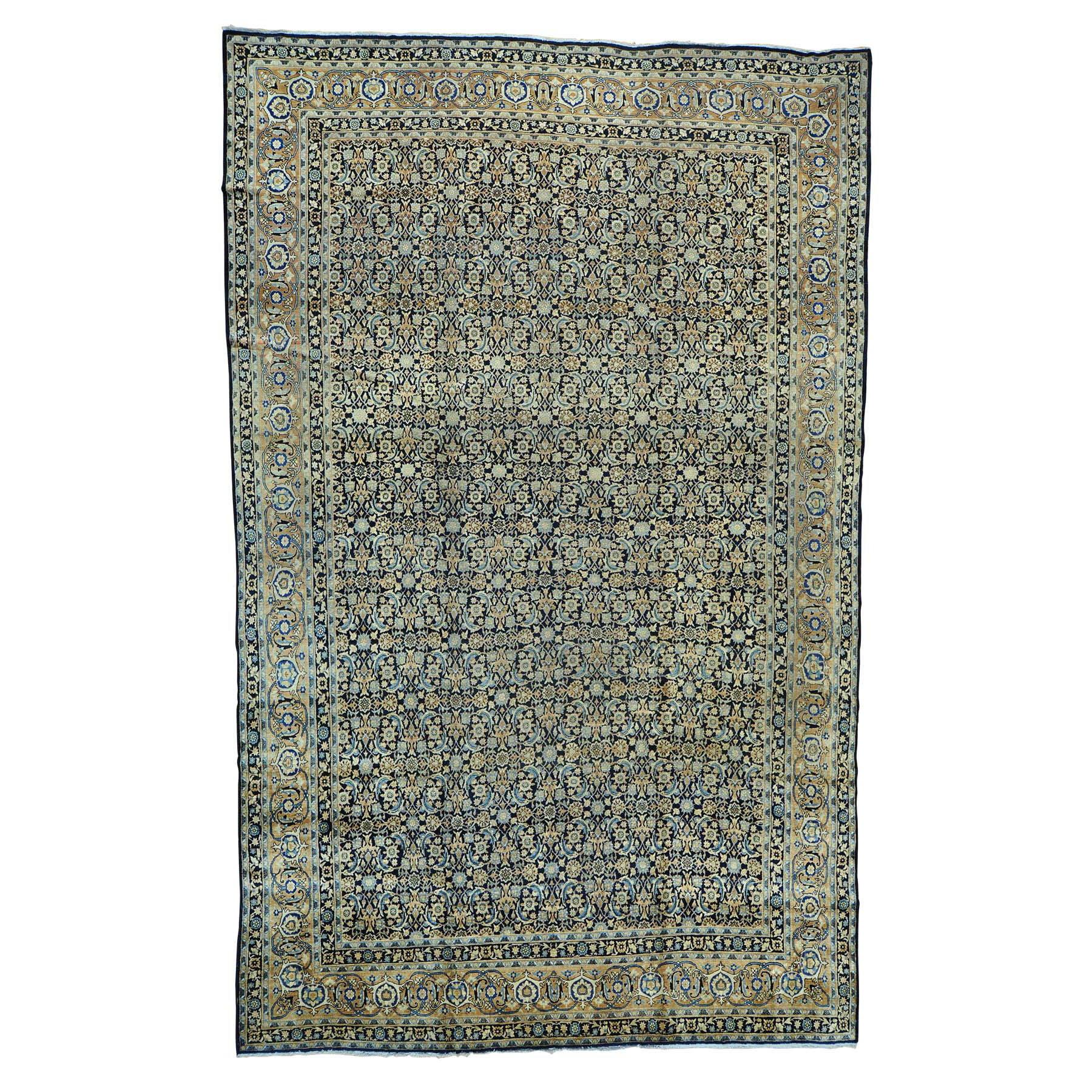 Antique Collection Hand Knotted Blue Rug No: 0152852