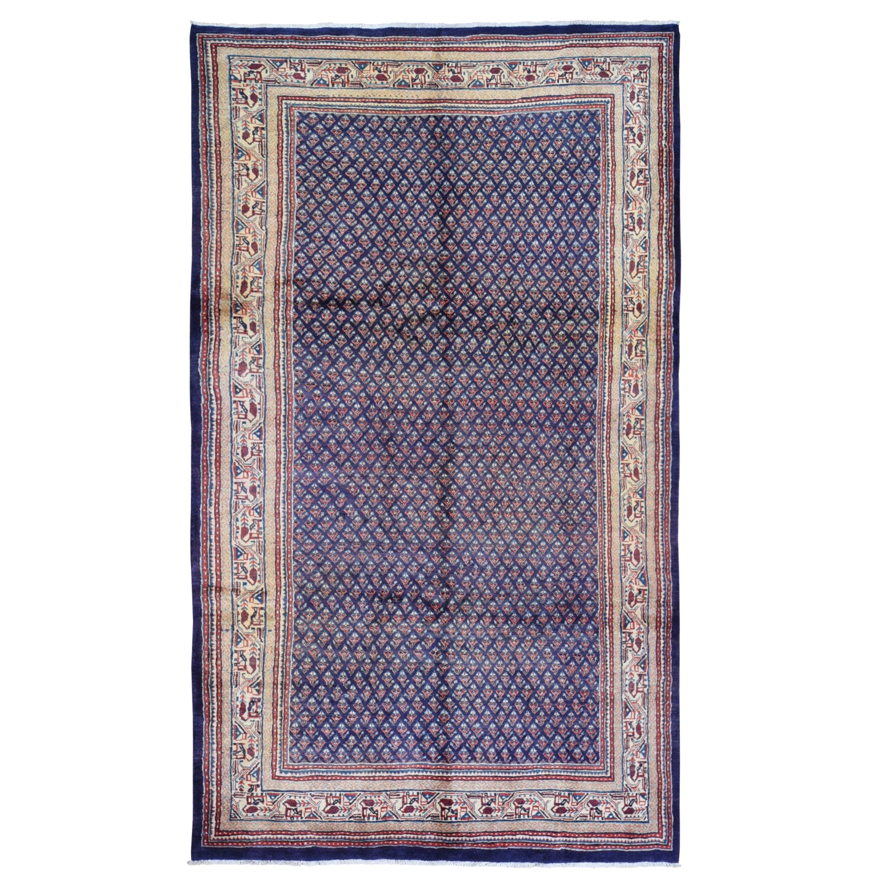Pirniakan Collection Hand Knotted Blue Rug No: 1119018