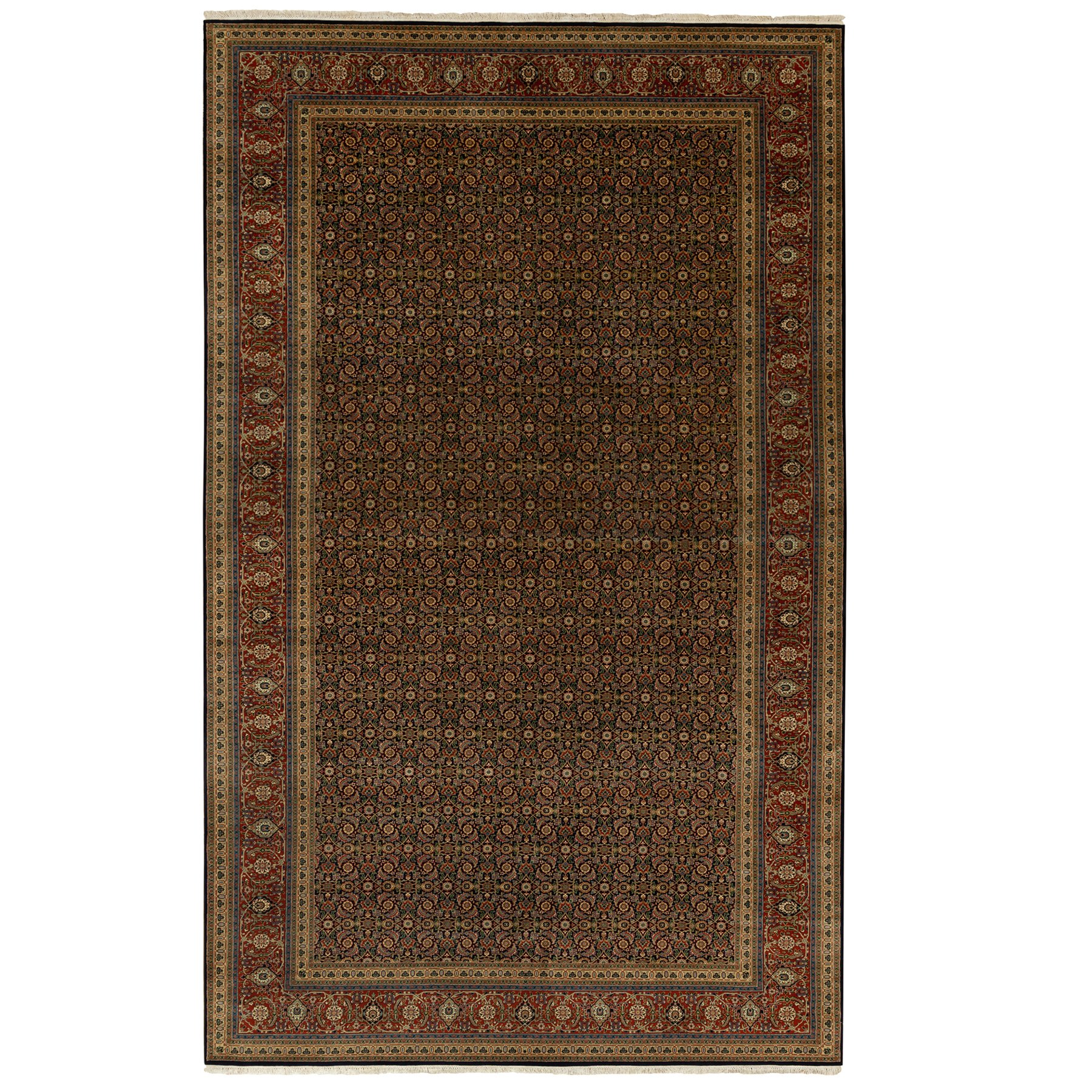 Pirniakan Collection Hand Knotted Blue Rug No: 1117296
