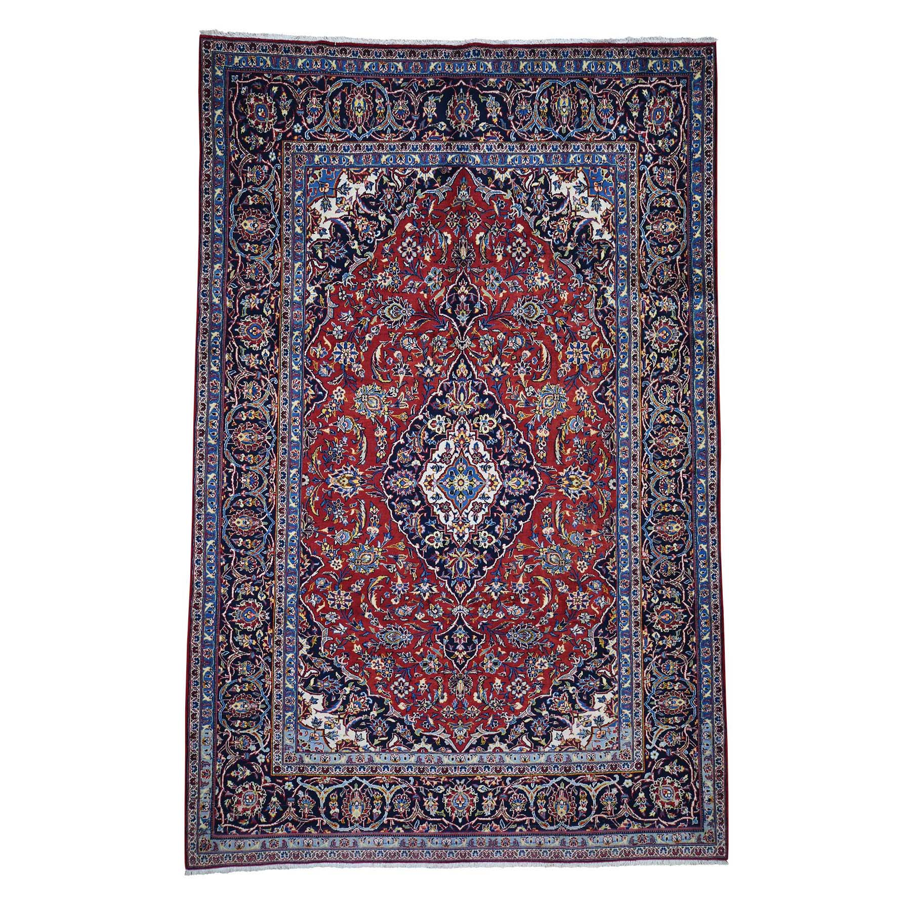 Classic Persian Collection Hand Knotted Red Rug No: 0185368