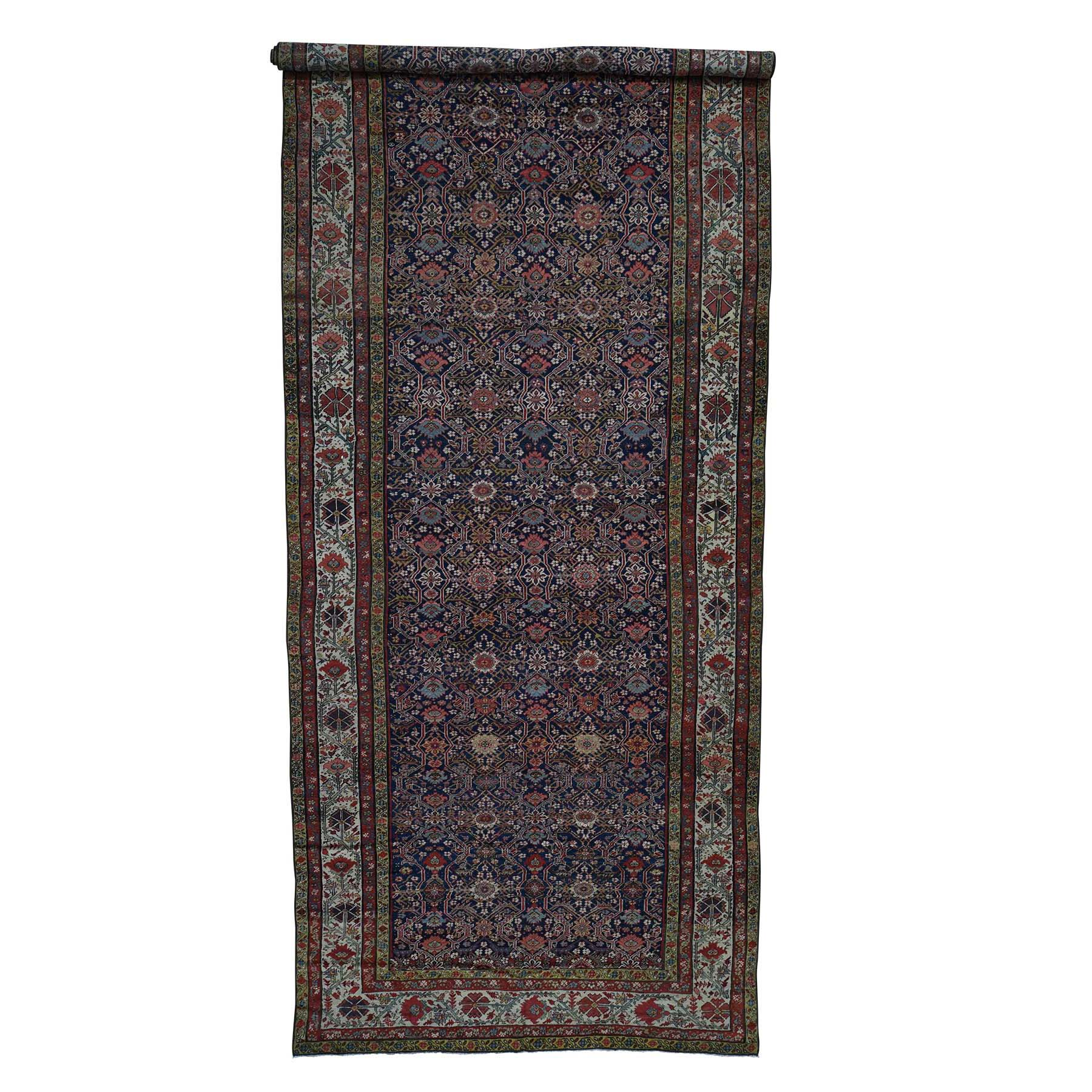 Antique Collection Hand Knotted Blue Rug No: 0185734