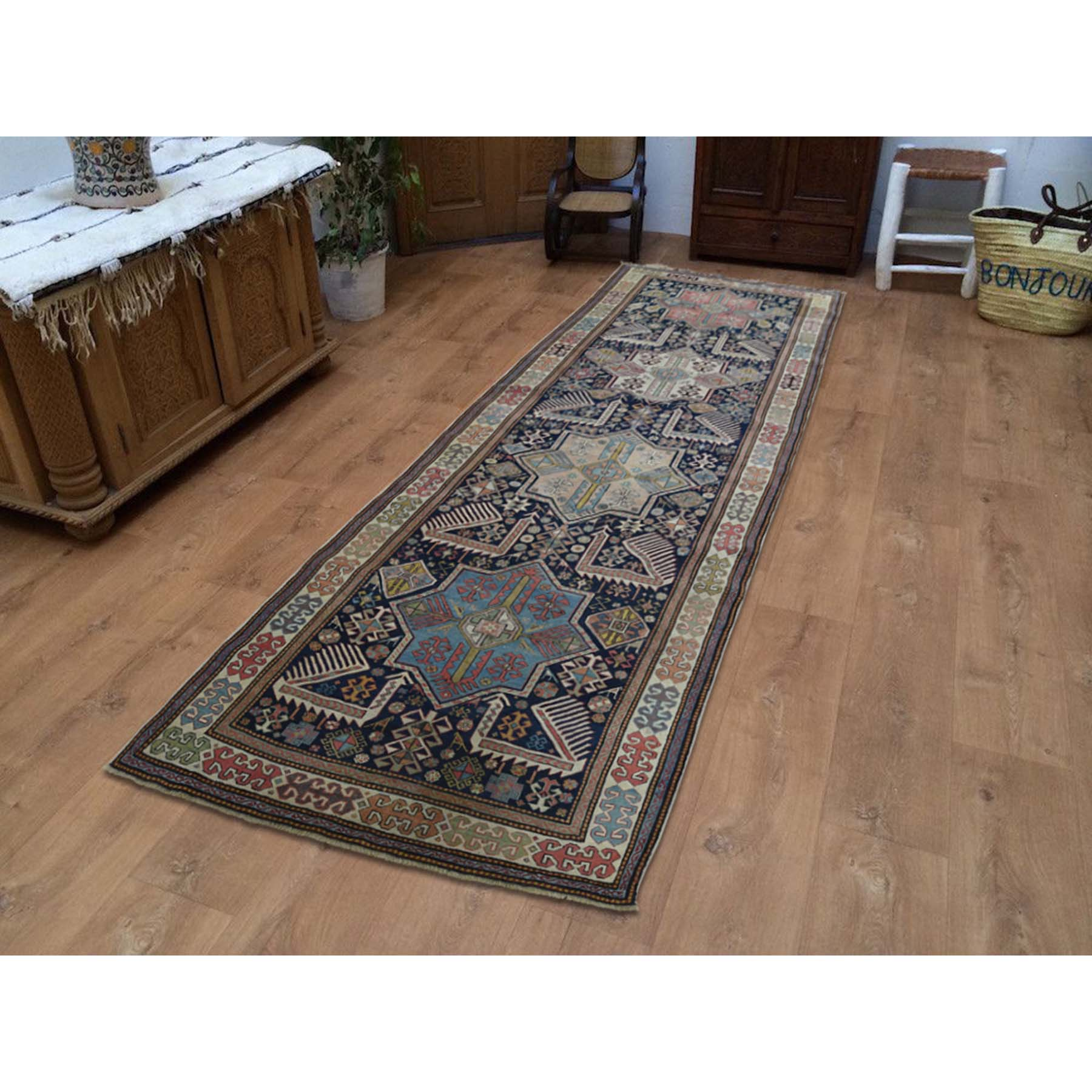 Antique Collection Hand Knotted Blue 0185732 Rug