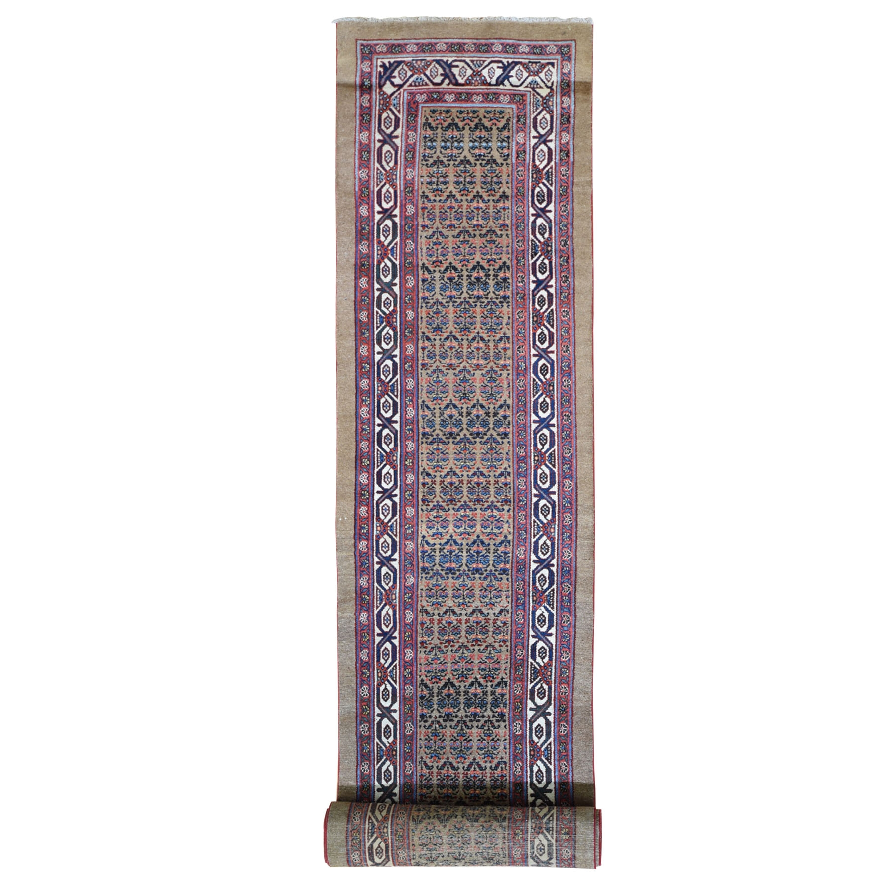 Antique Collection Hand Knotted Brown Rug No: 1119148