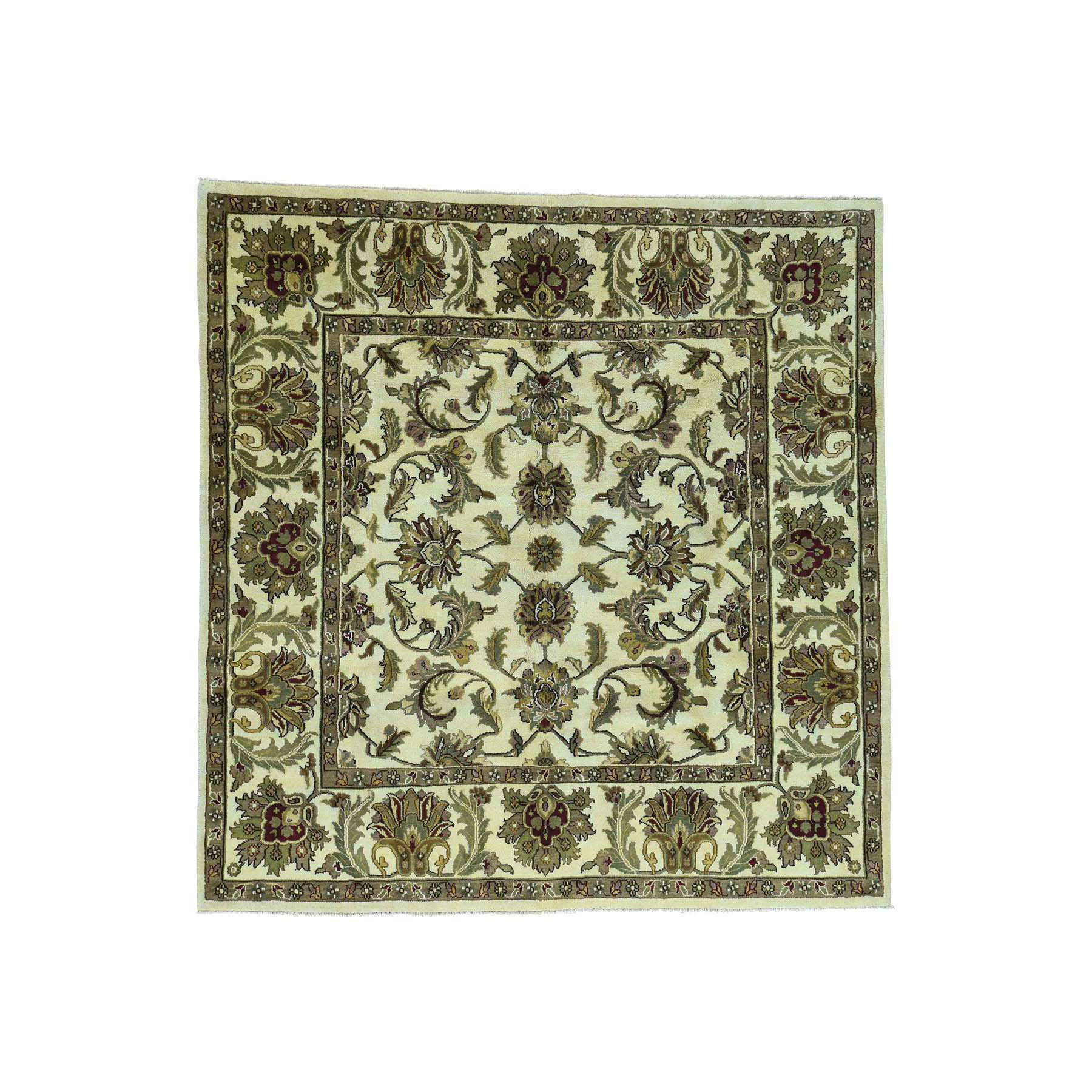 Pahlavi Collection Hand Knotted Ivory Rug No: 167522