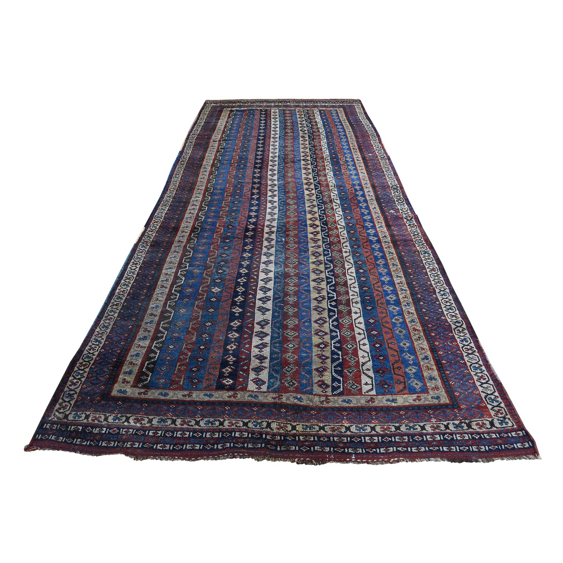 Antique Collection Hand Knotted Blue Rug No: 186276