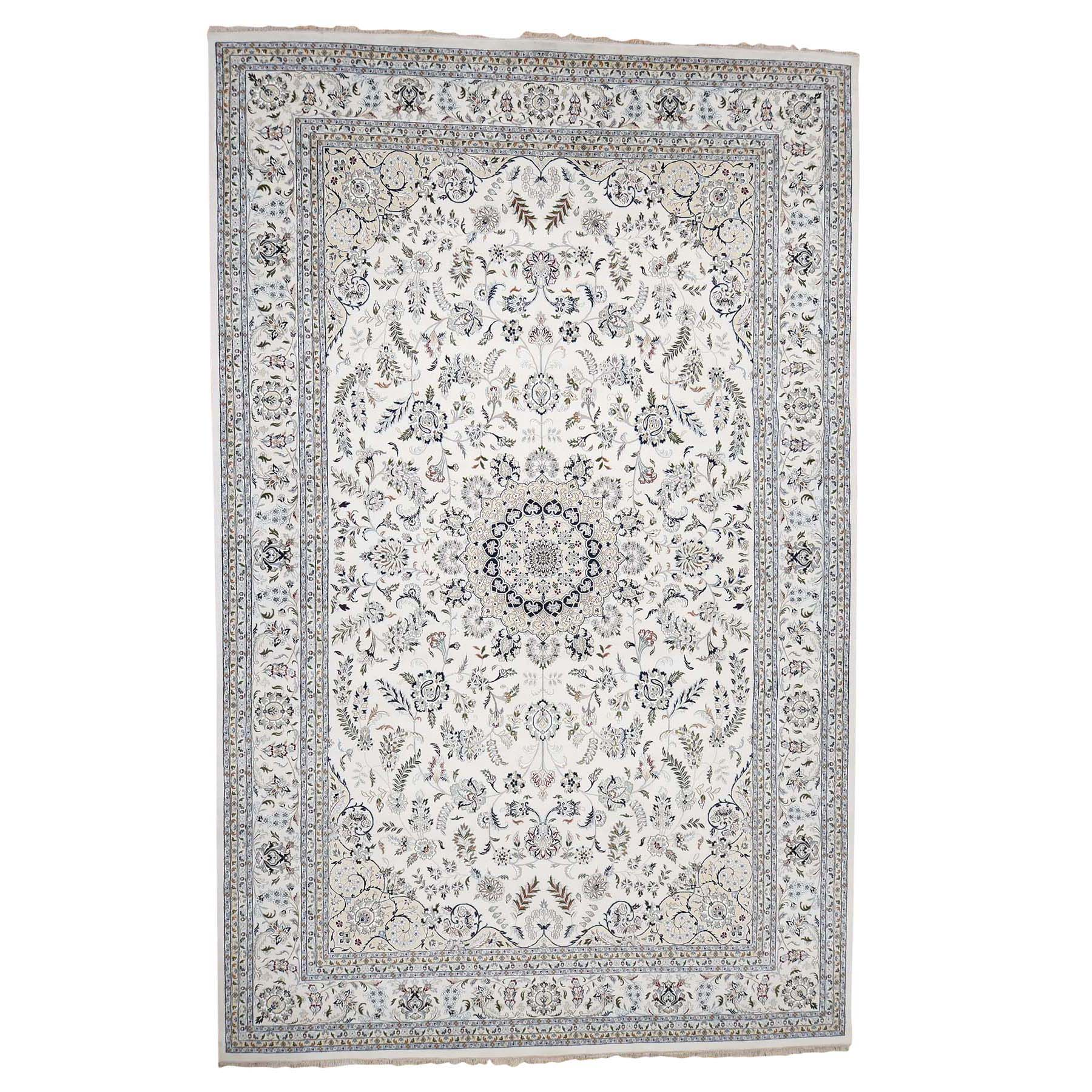 Pirniakan Collection Hand Knotted Ivory Rug No: 186518