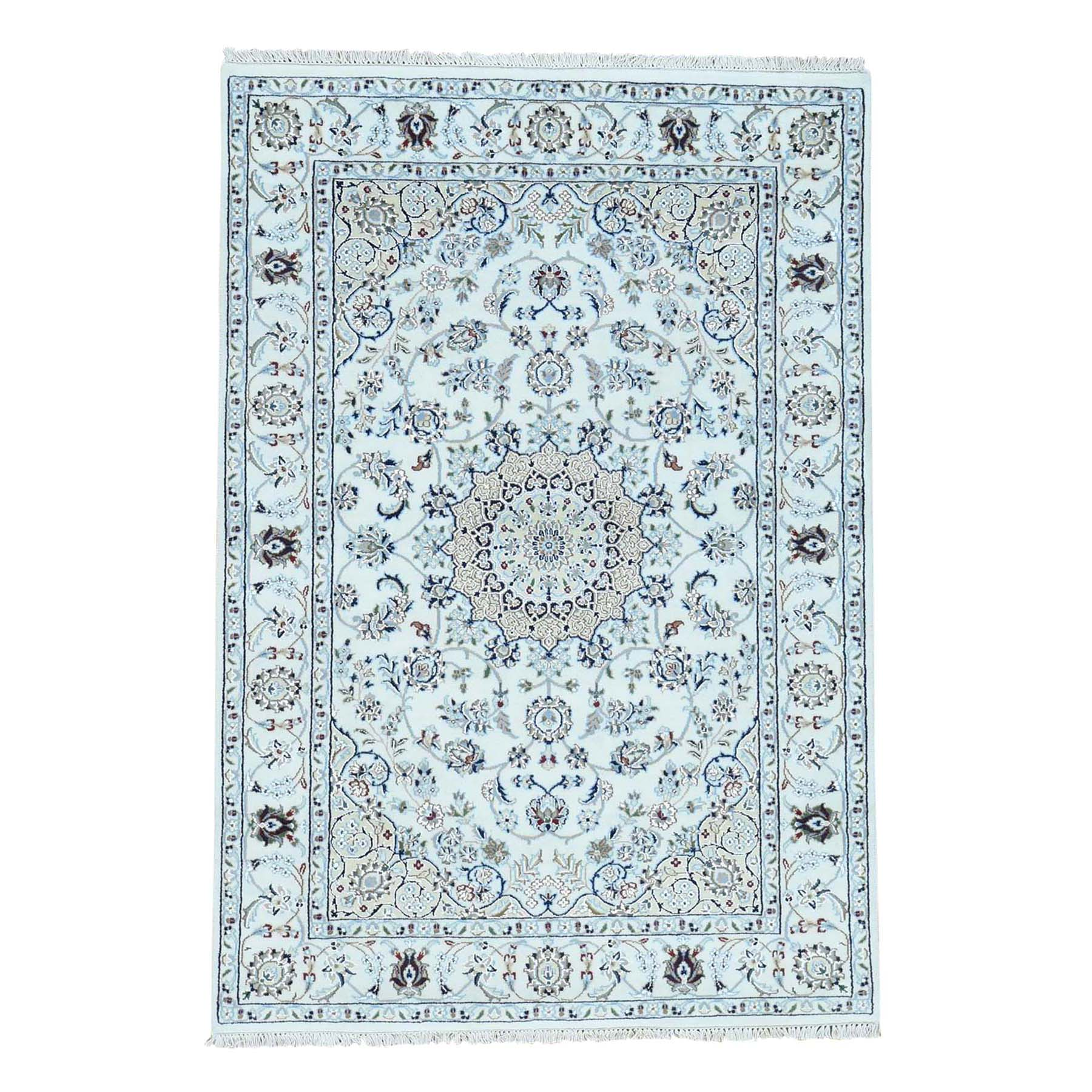 Pirniakan Collection Hand Knotted Ivory Rug No: 0186544