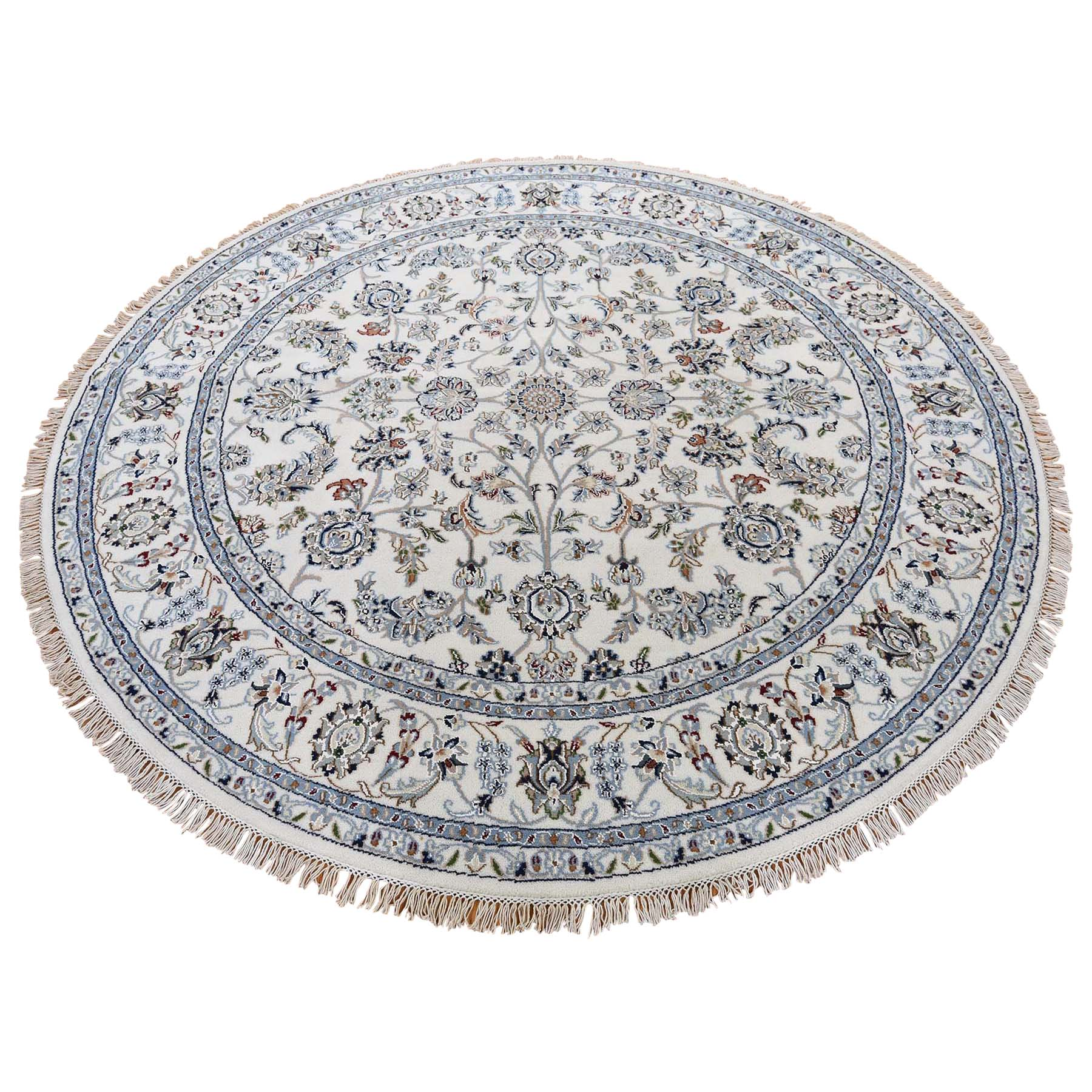 Pirniakan Collection Hand Knotted Ivory Rug No: 0186572