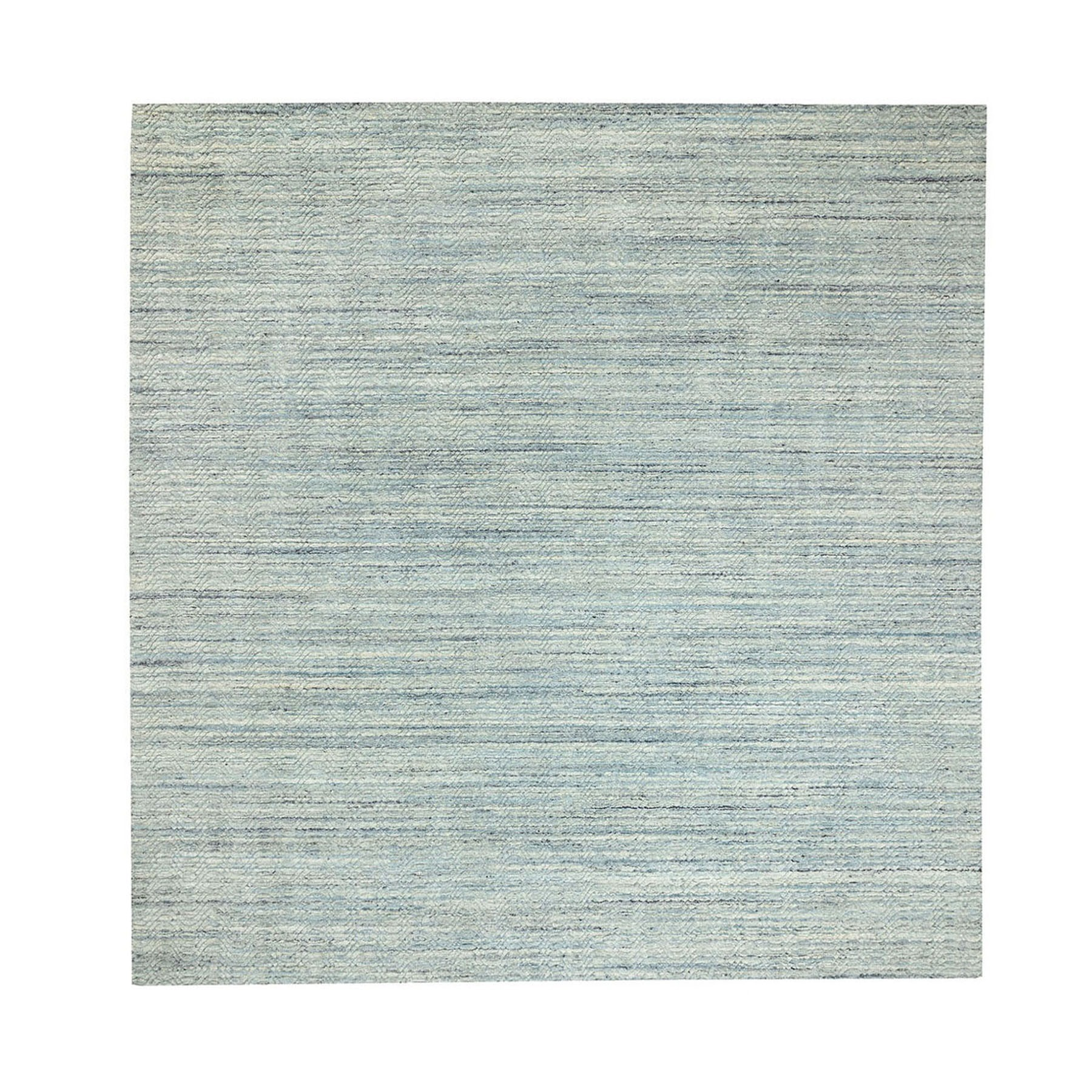Mid Century Modern Collection Hand Loomed Grey Rug No: 1124104