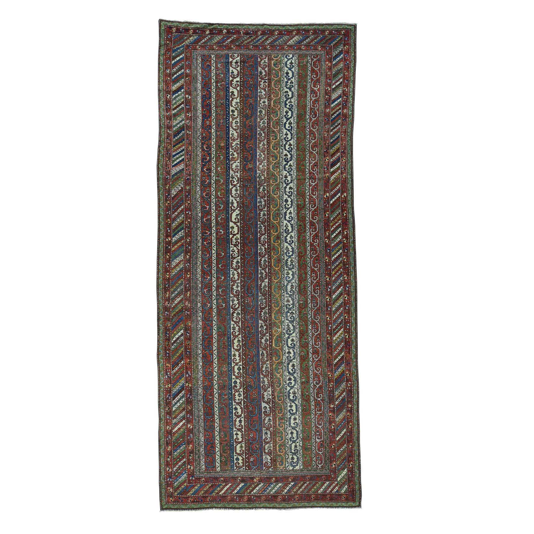 Antique Collection Hand Knotted Multicolored Rug No: 168842