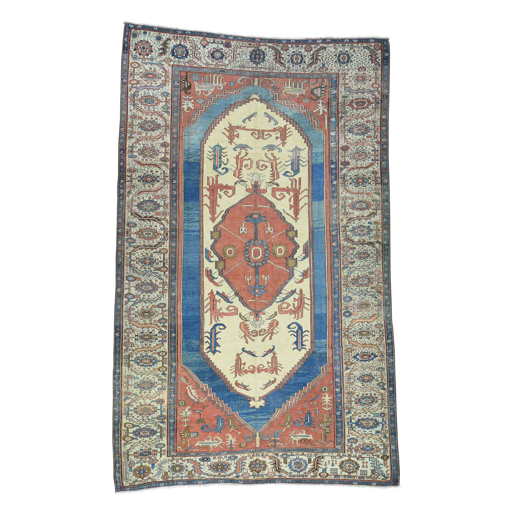 Antique Collection Hand Knotted Red Rug No: 168854