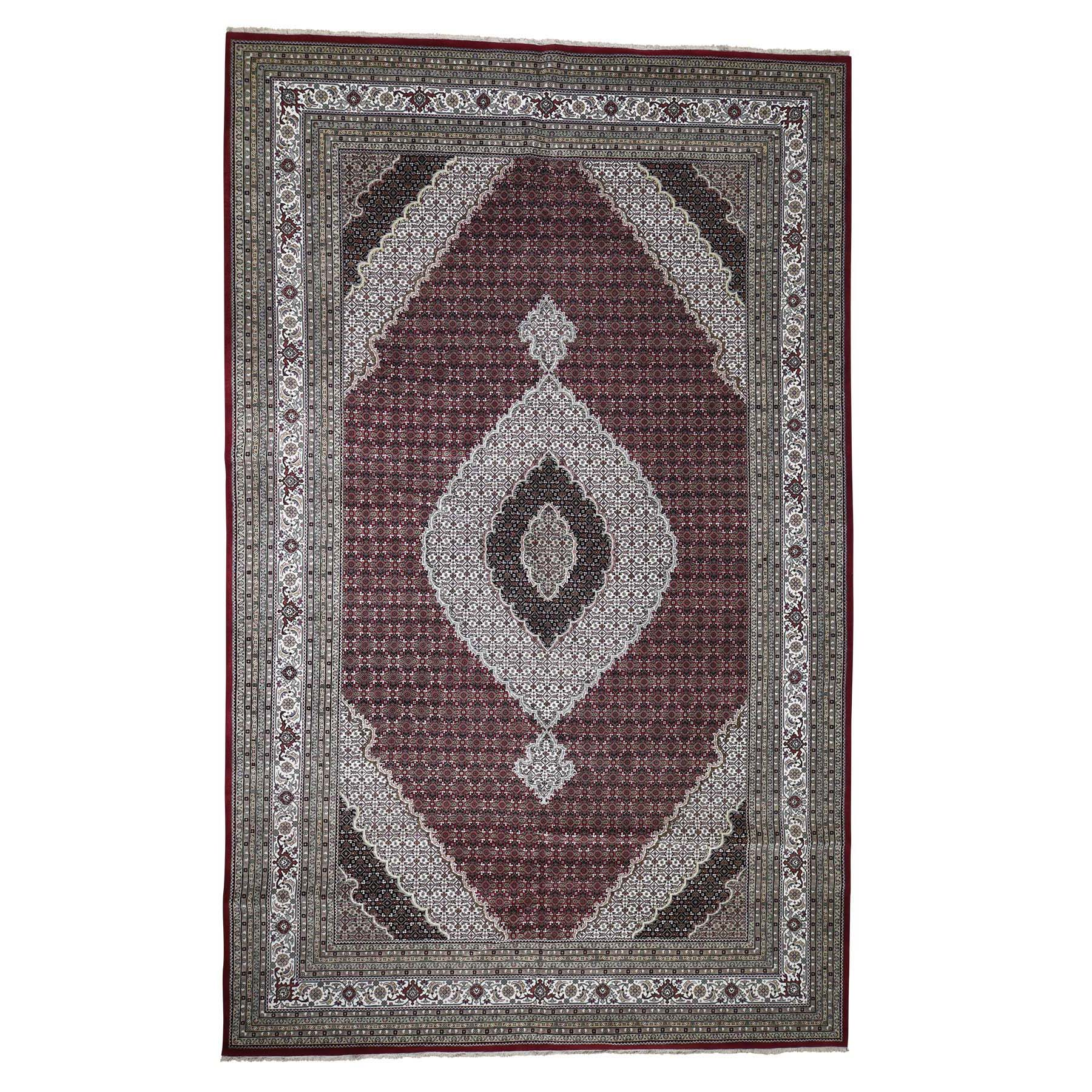 Pirniakan Collection Hand Knotted Red Rug No: 0187430