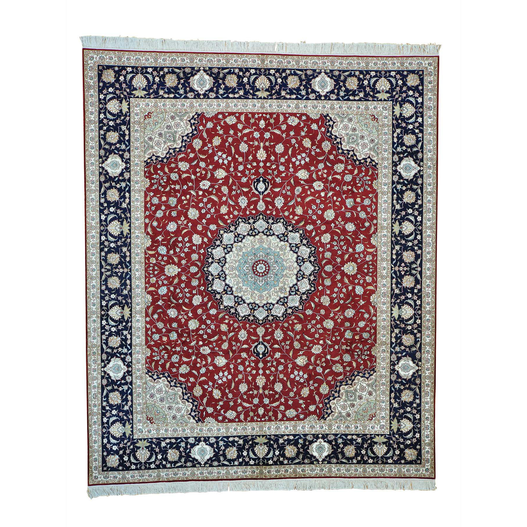Pirniakan Collection Hand Knotted Red Rug No: 153748
