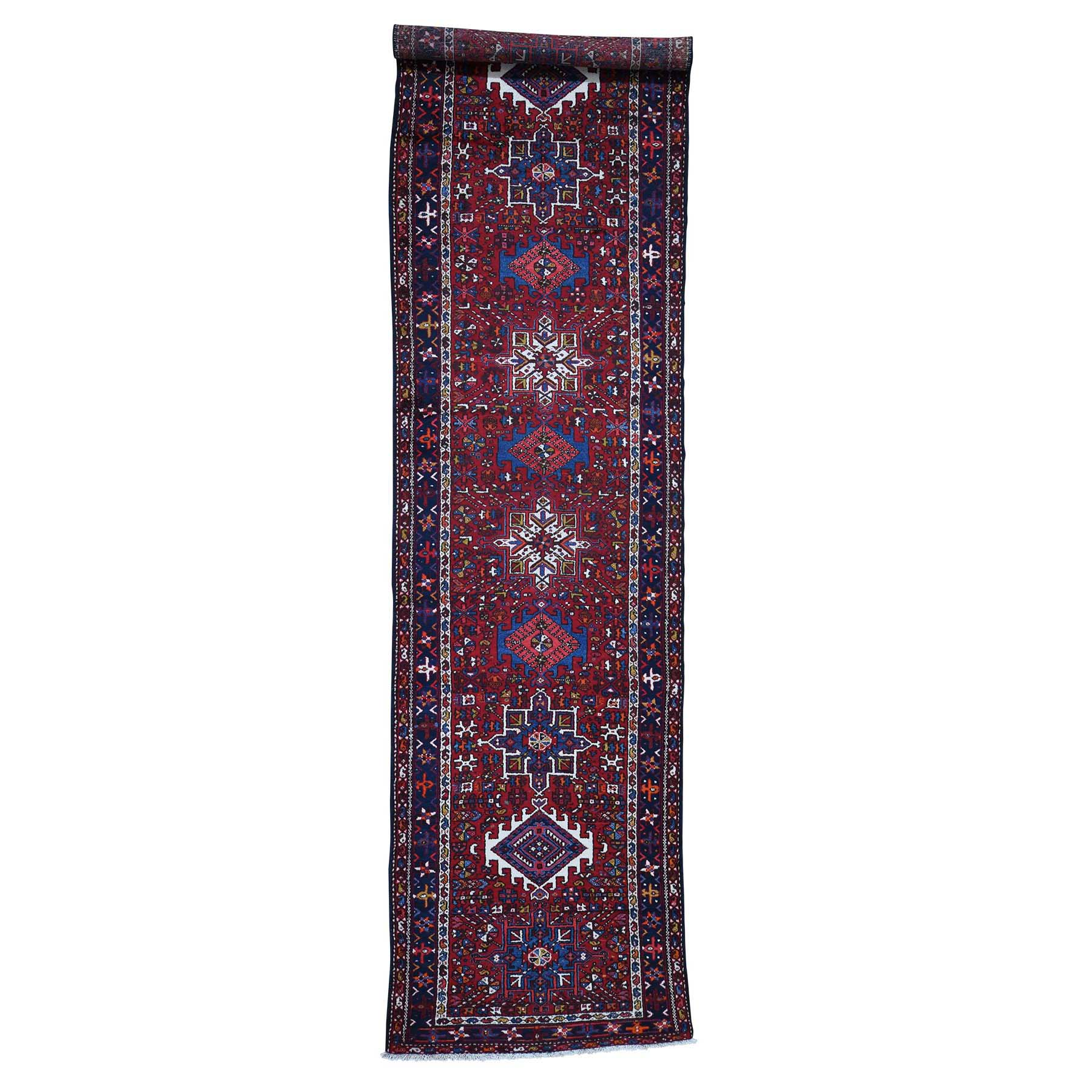 Serapi Heriz and Bakhshayesh Collection Hand Knotted Red Rug No: 0187994