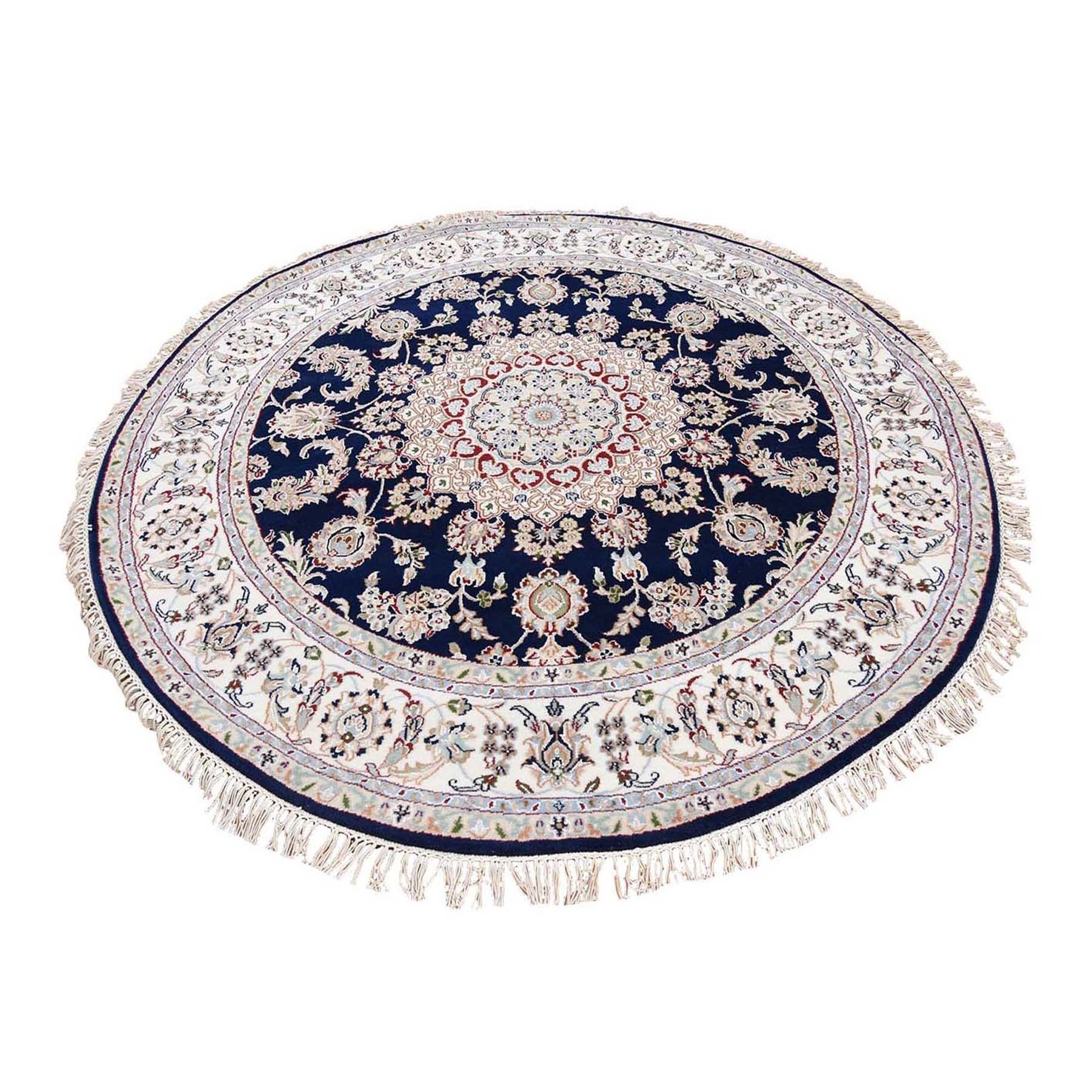 Pirniakan Collection Hand Knotted Blue Rug No: 1119968