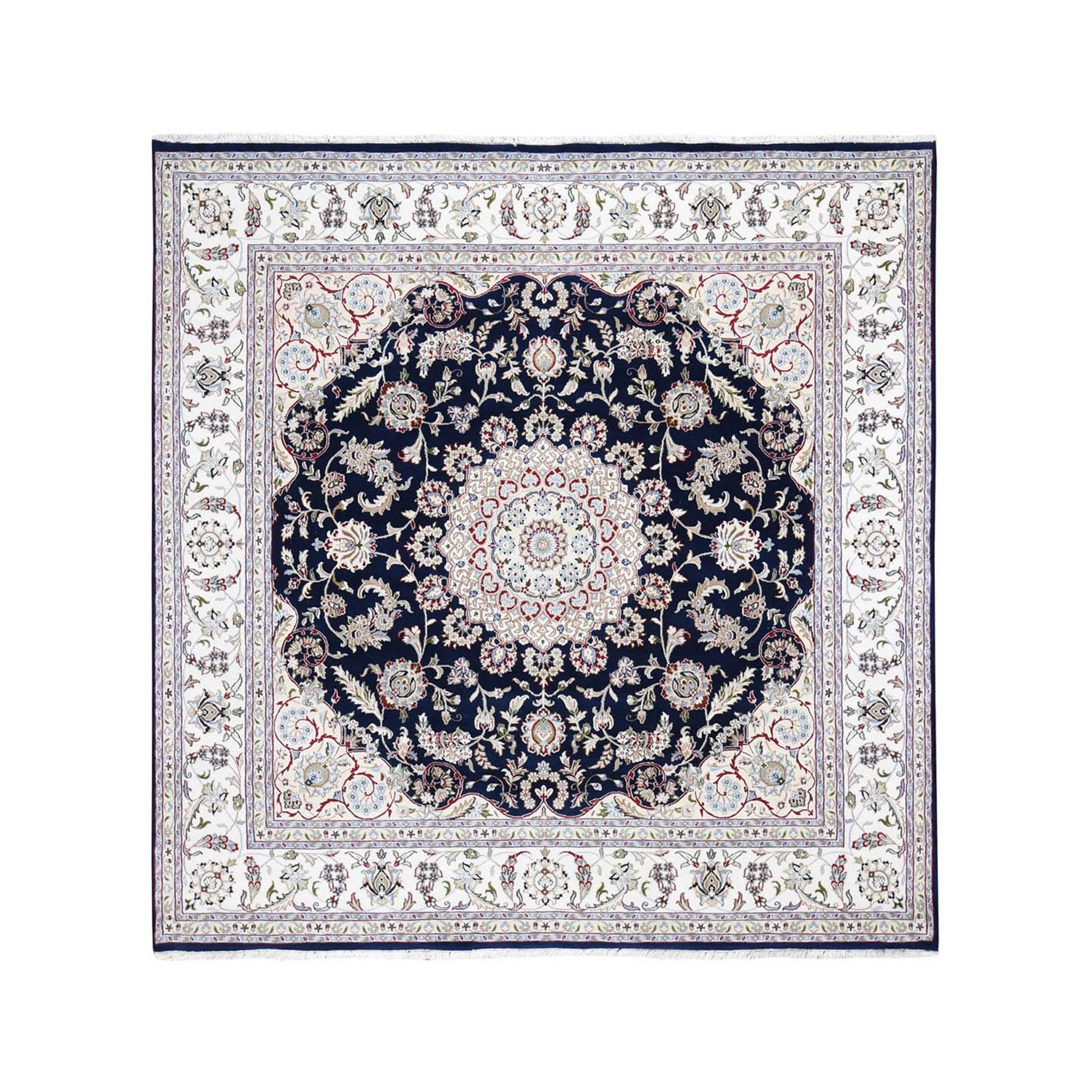 Pirniakan Collection Hand Knotted Blue Rug No: 1119970