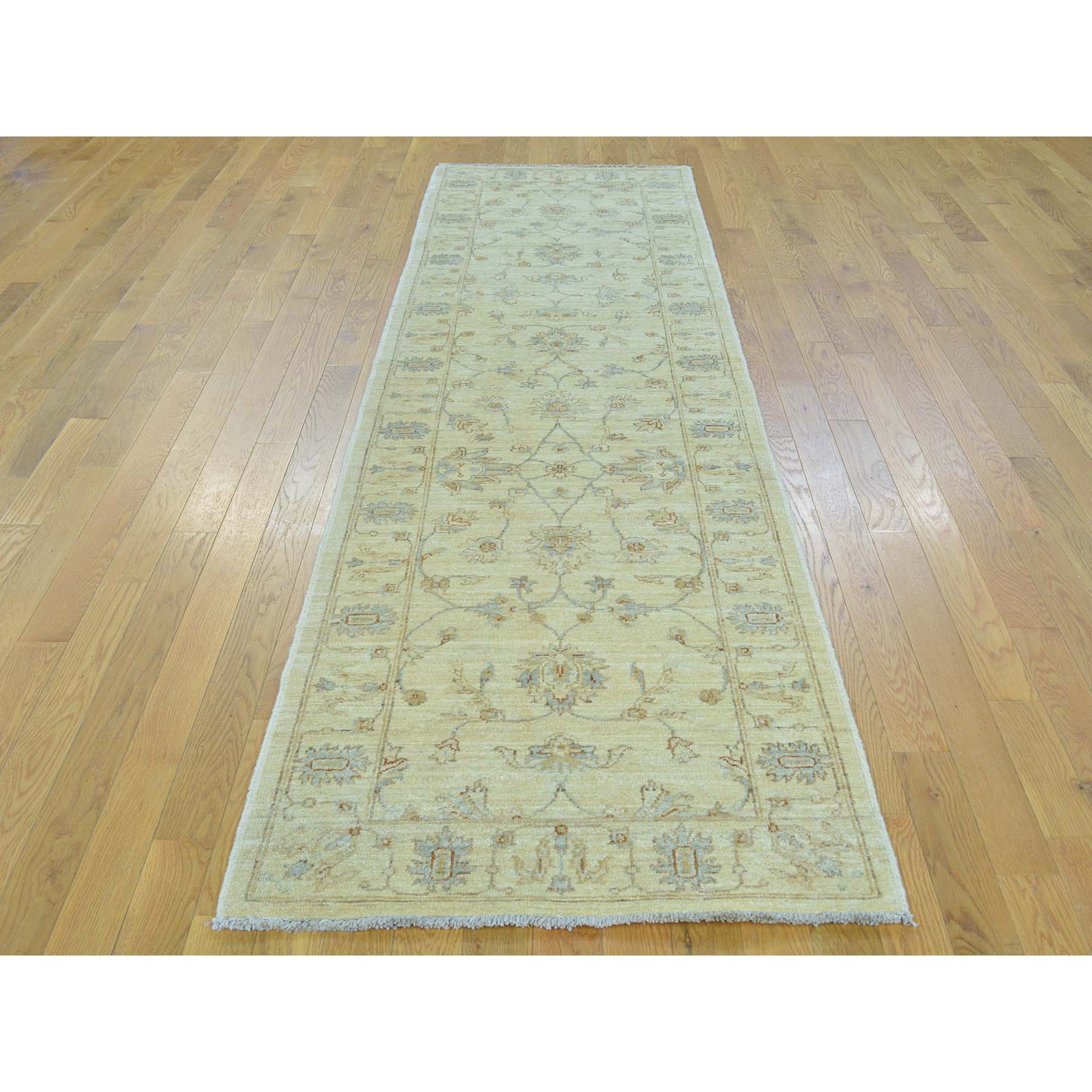 Agra And Turkish Collection Hand Knotted Beige 0154060 Rug