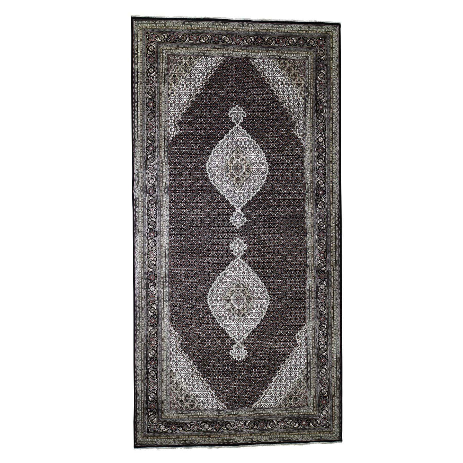Pirniakan Collection Hand Knotted Black Rug No: 0188314