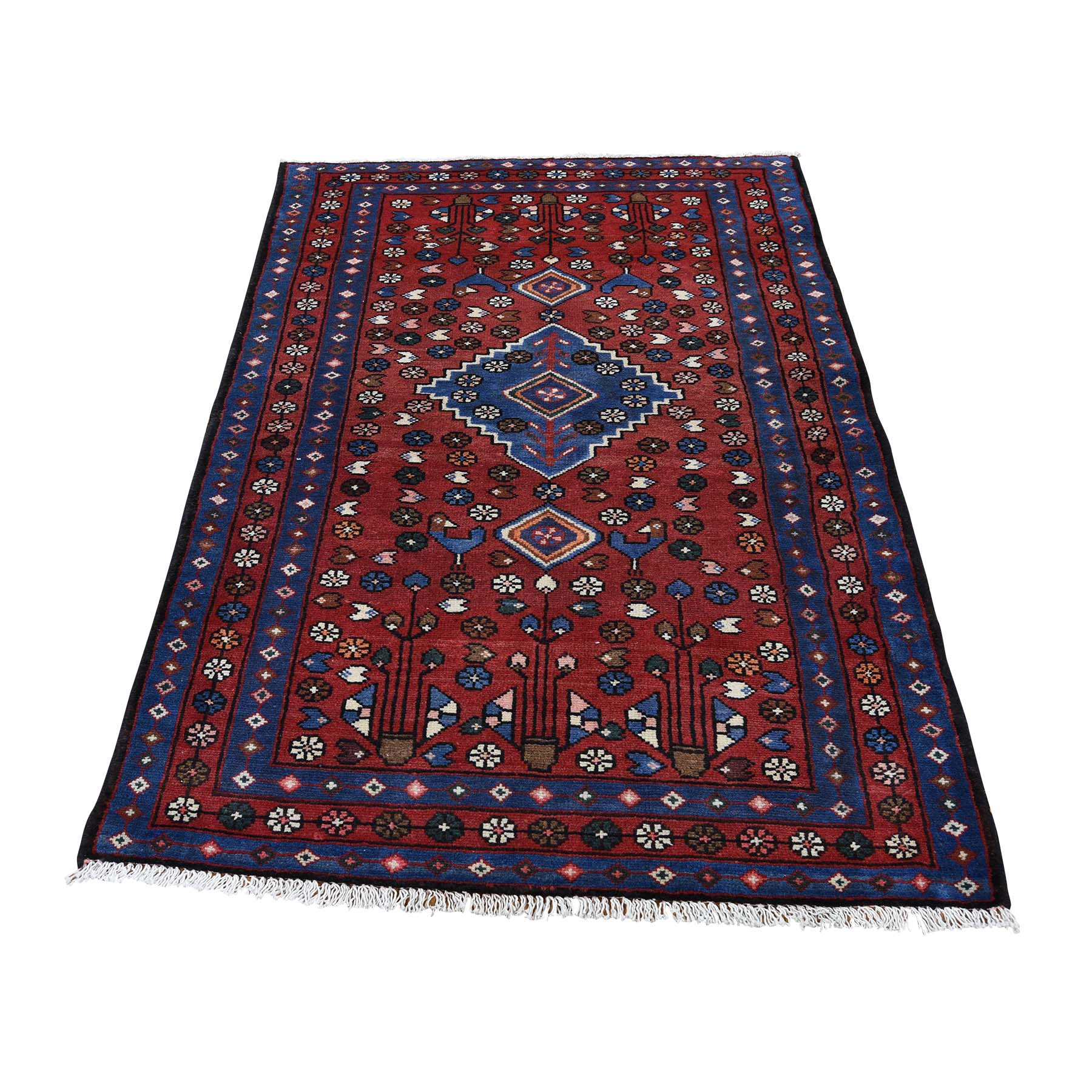 Classic Persian Collection Hand Knotted Red Rug No: 0188960