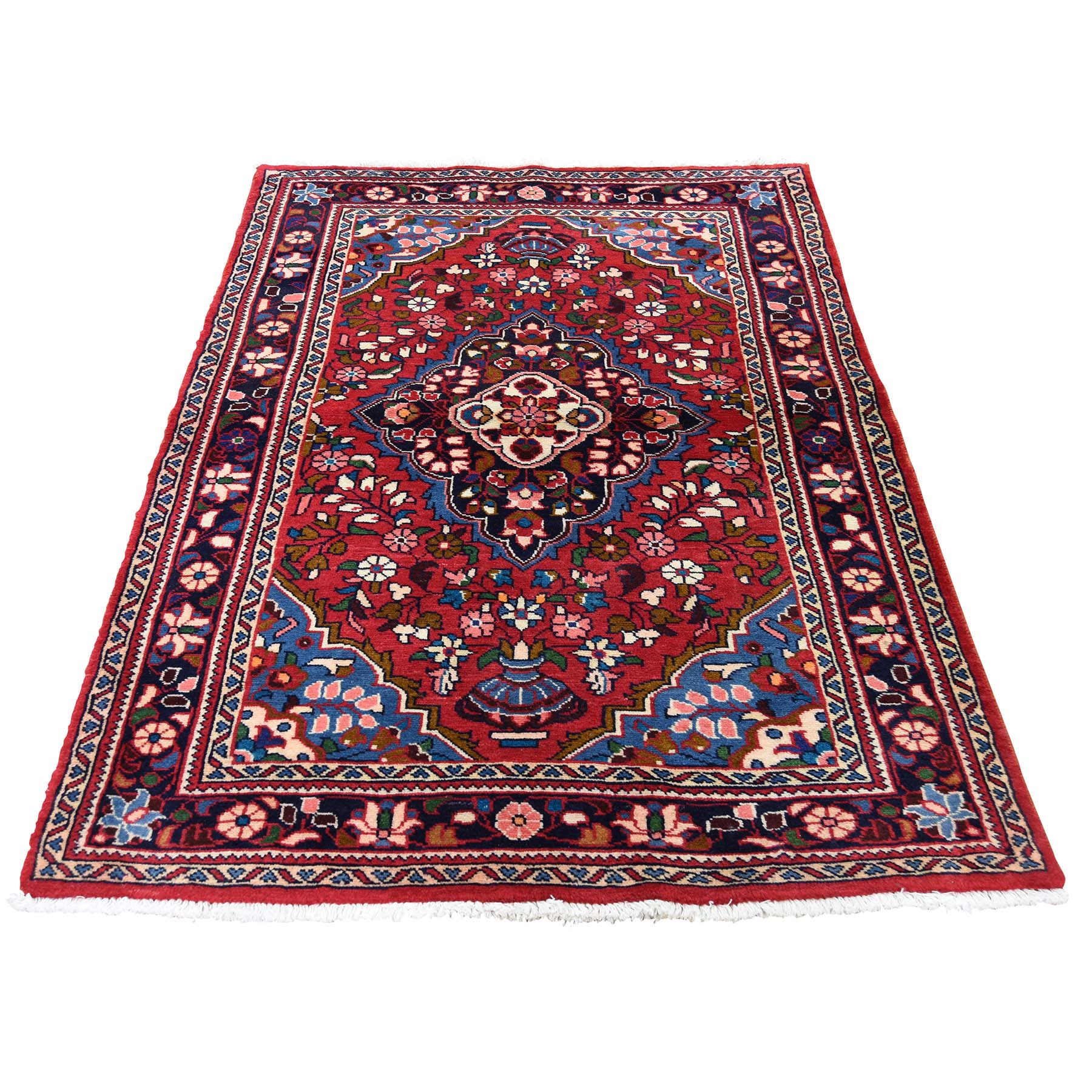 Classic Persian Collection Hand Knotted Red Rug No: 0189026