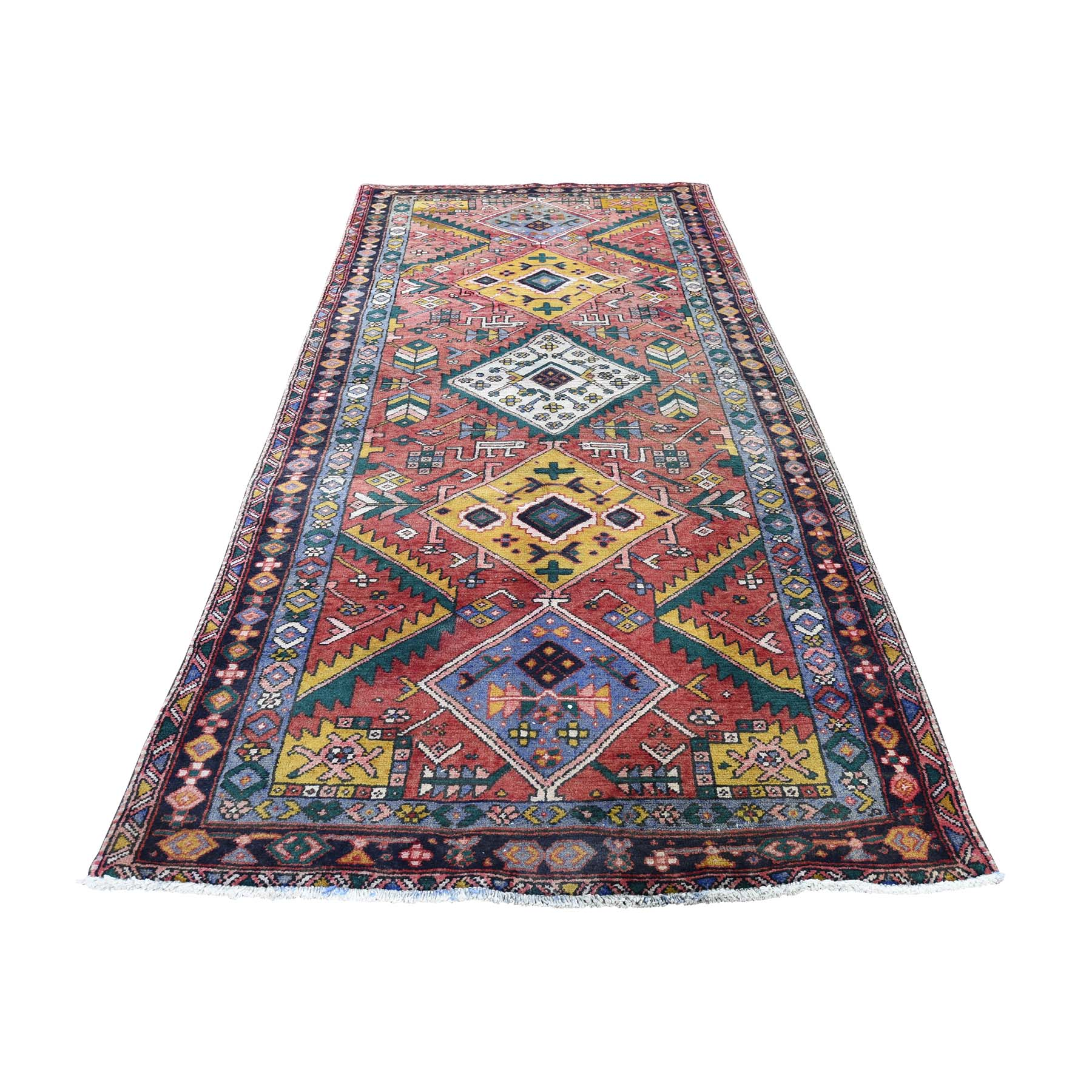 Classic Persian Collection Hand Knotted Red Rug No: 0189342