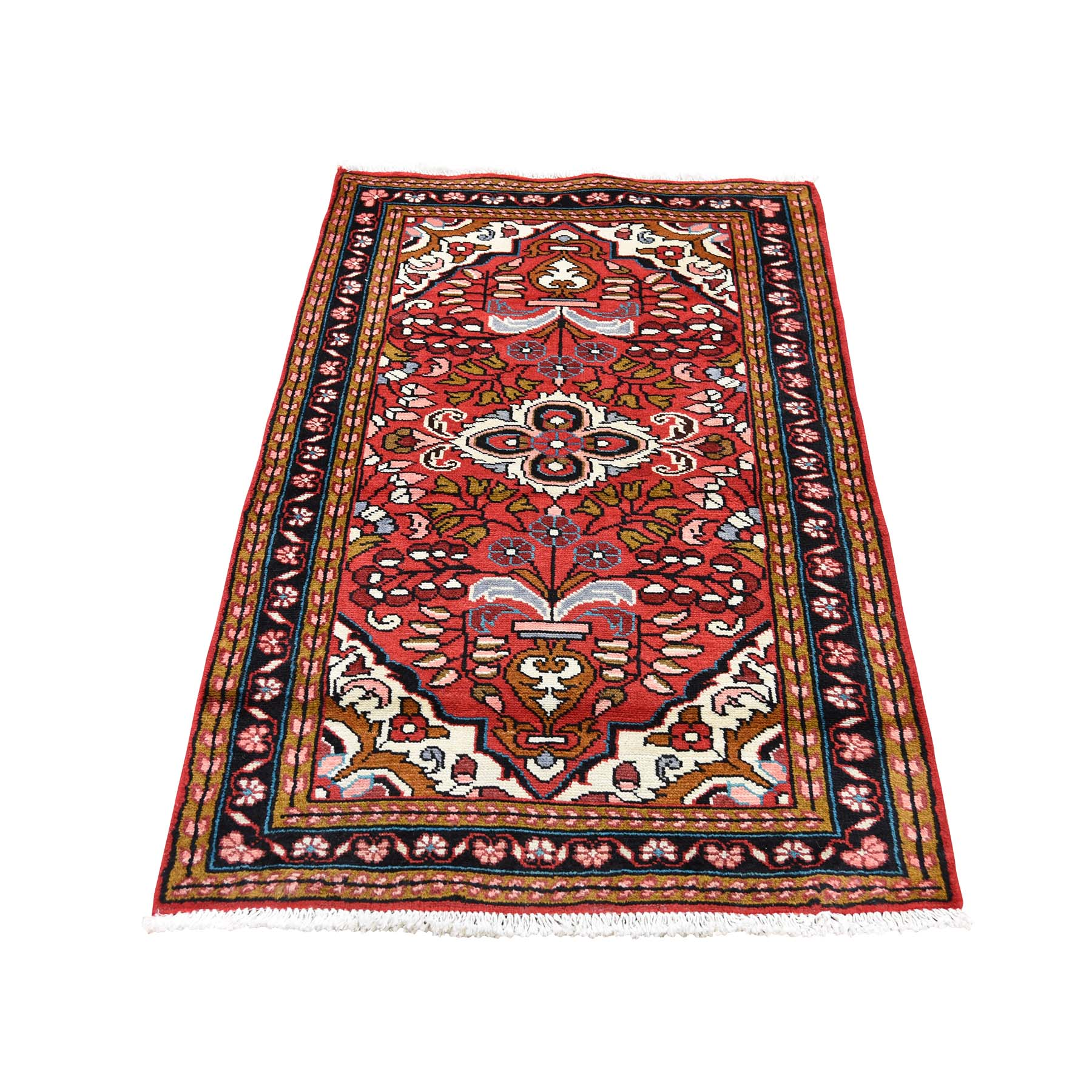 Classic Persian Collection Hand Knotted Red Rug No: 0189378