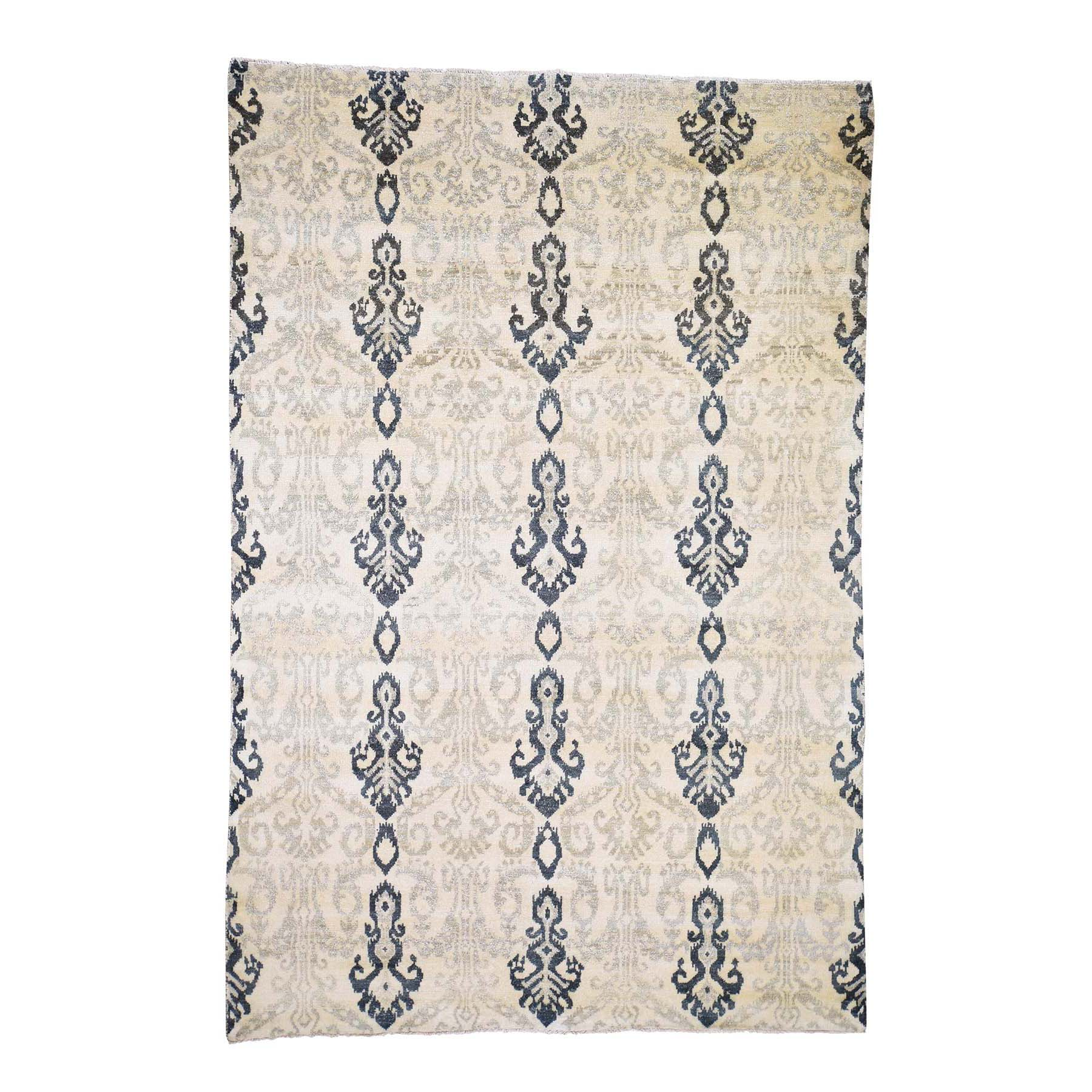 Deep discounted Collection Hand Knotted Beige Rug No: 0189566