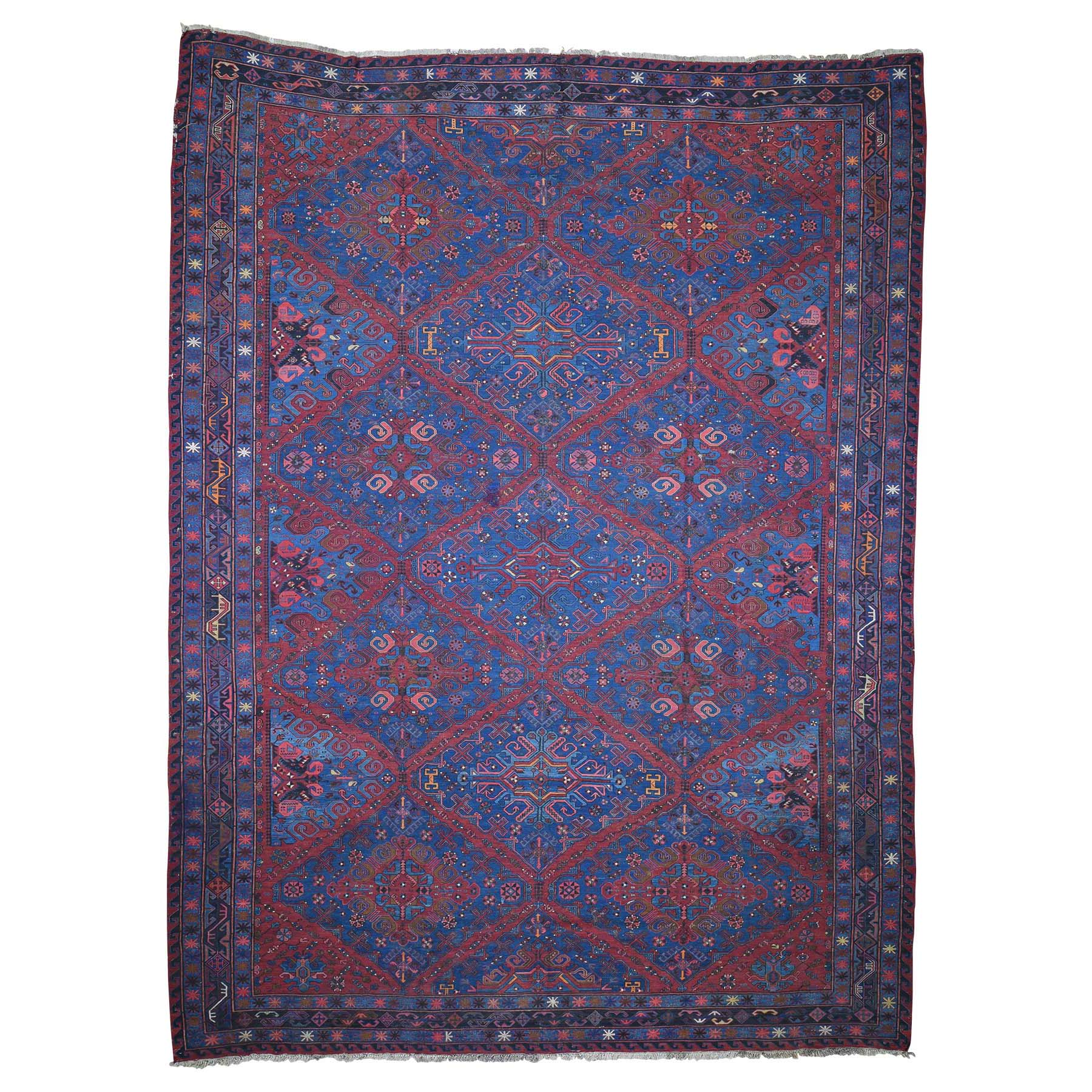 Antique Collection Hand Knotted Teal Rug No: 0189740