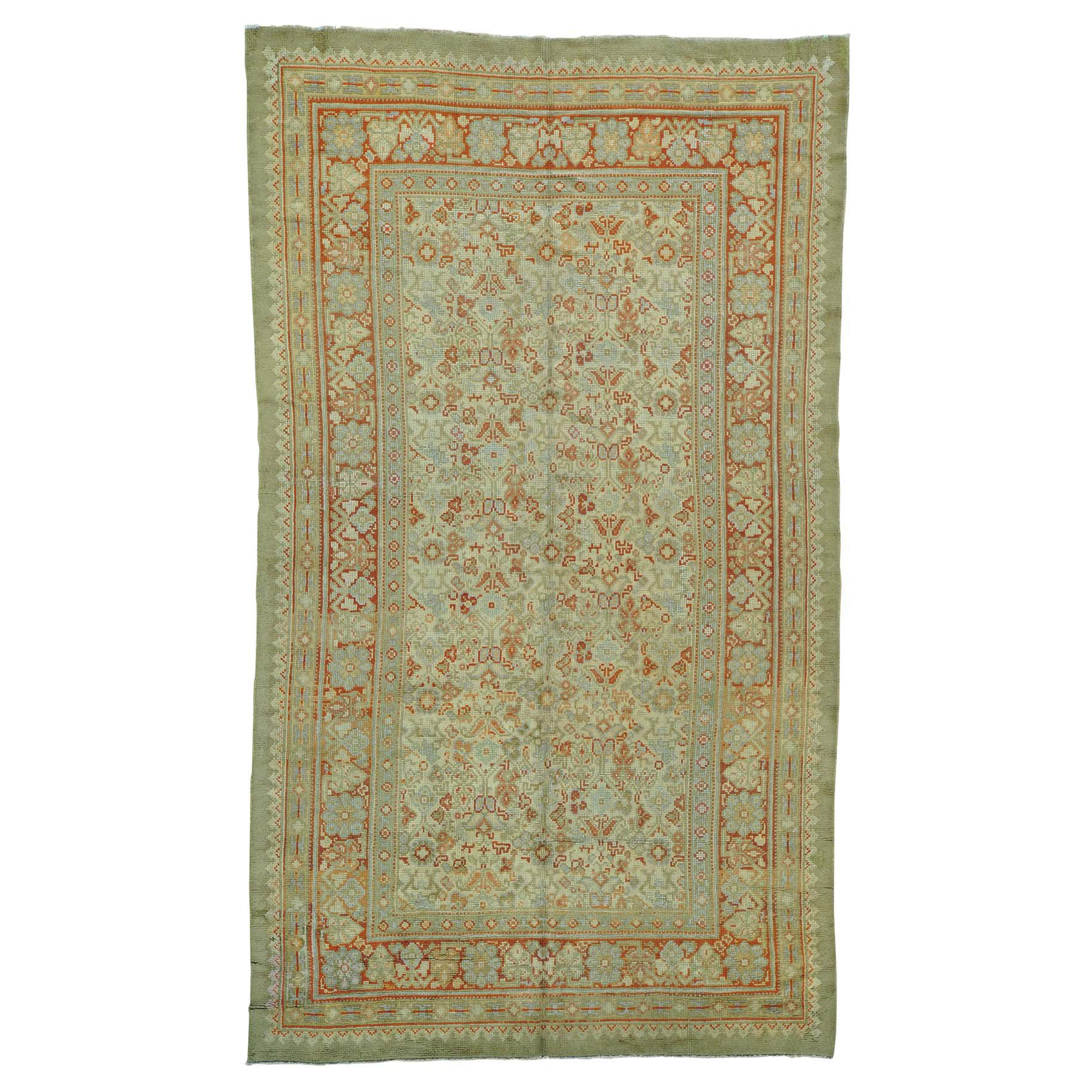 Antique Collection Hand Knotted Beige Rug No: 153250