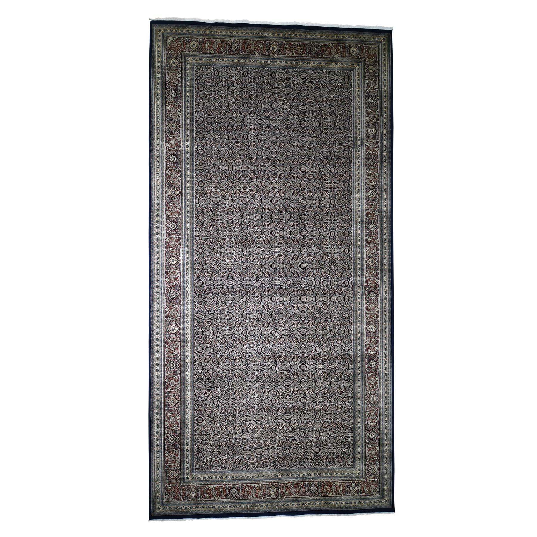 Pirniakan Collection Hand Knotted Blue Rug No: 0190072